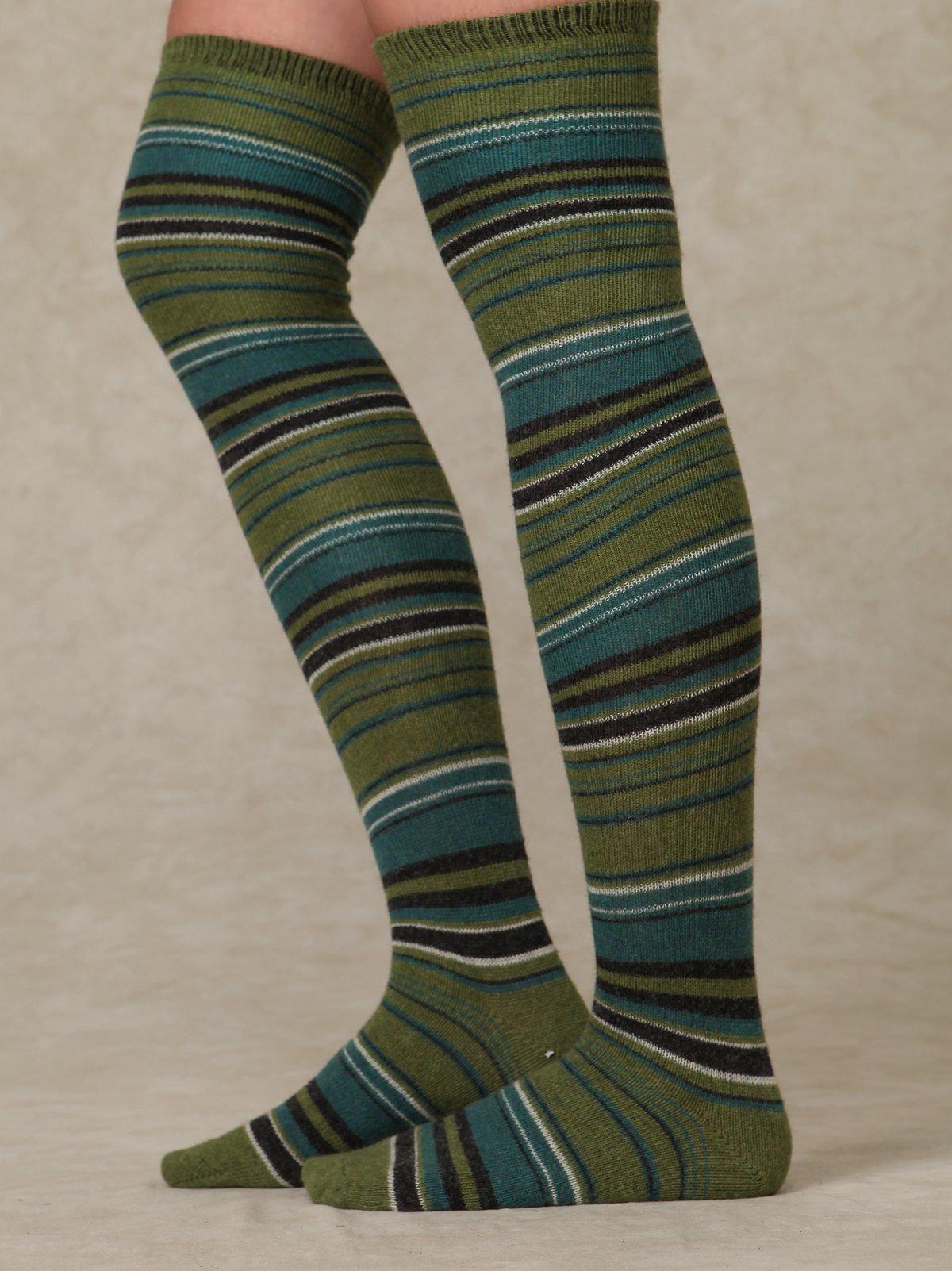 Stripes Tall Sock