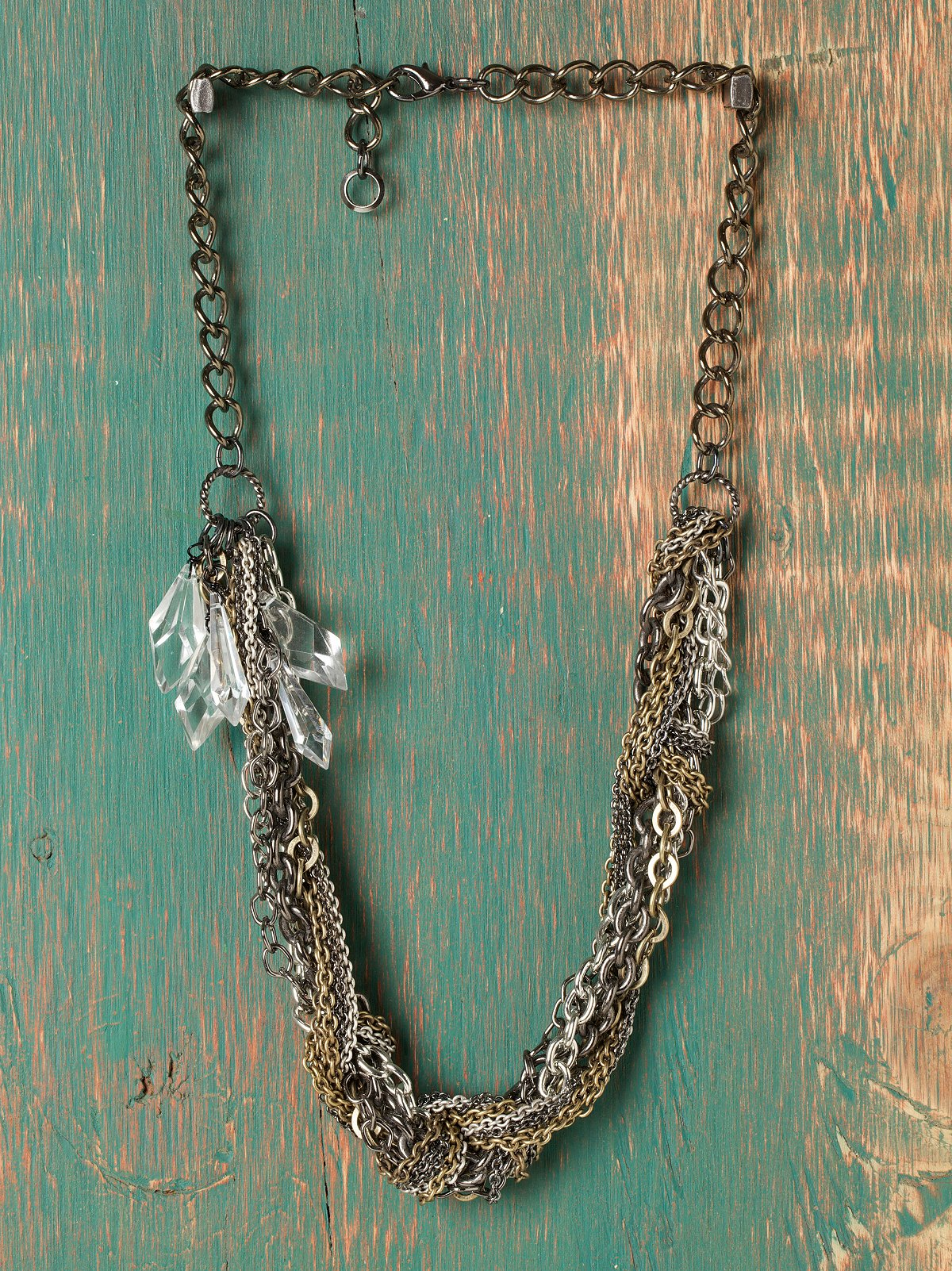 Twisted In Chains Necklace