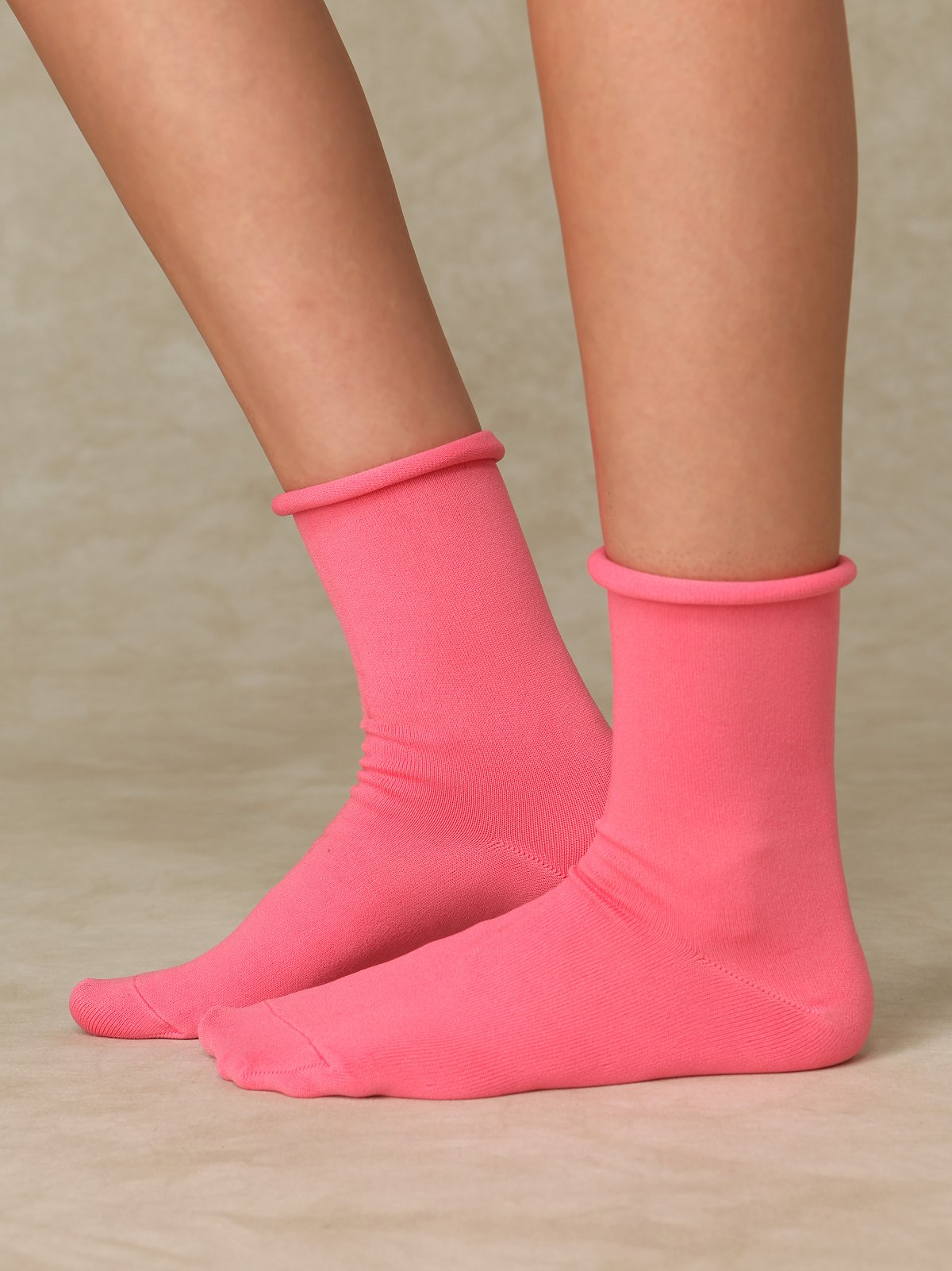 Roll Top Soft Ankle Sock