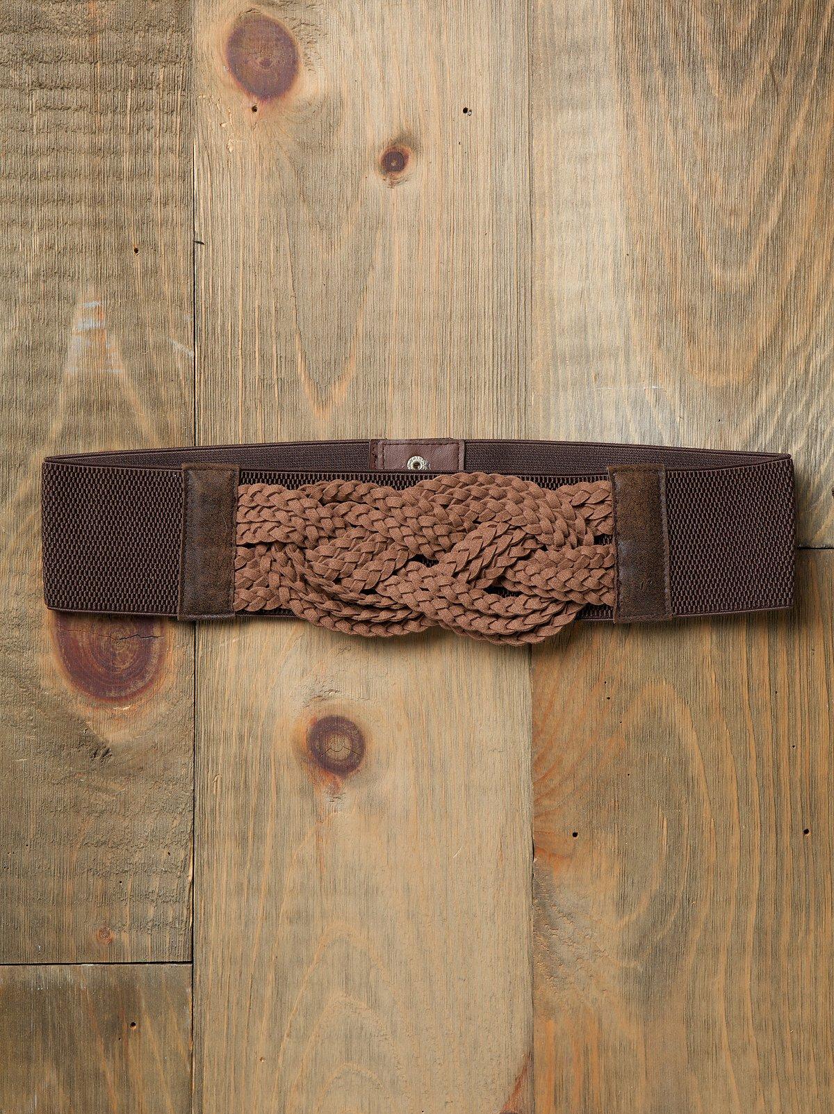 Knotted Stretch Waist Belt