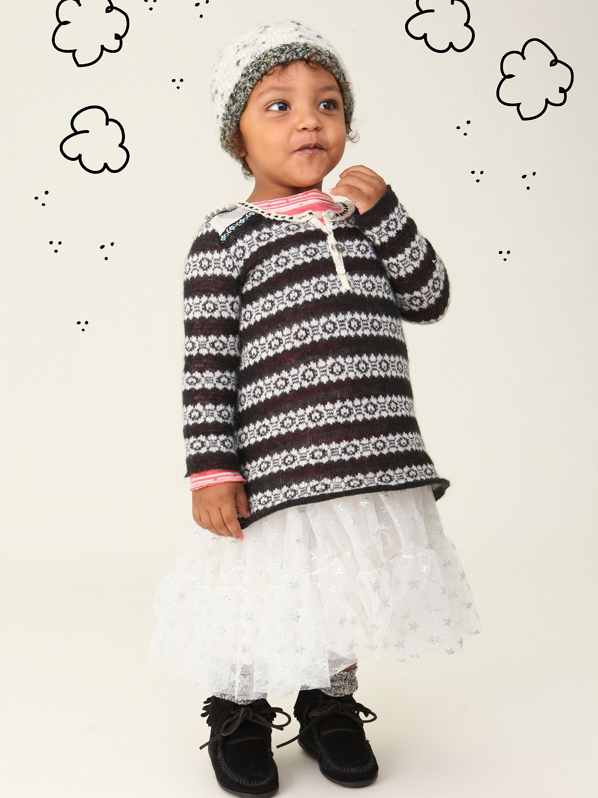 Wee People Stripe Goldilock Tunic