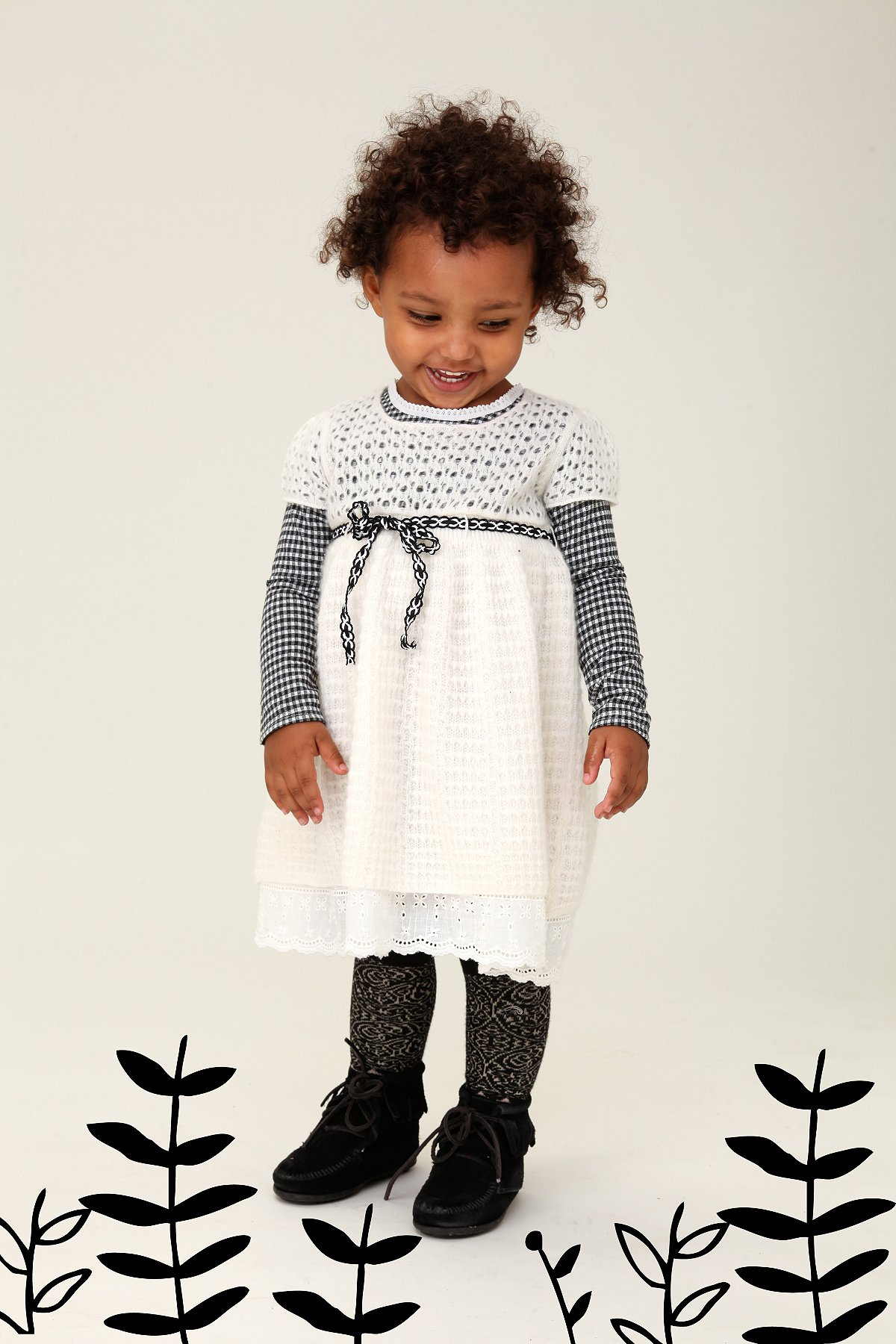 Wee People Precious Peppermint Dress