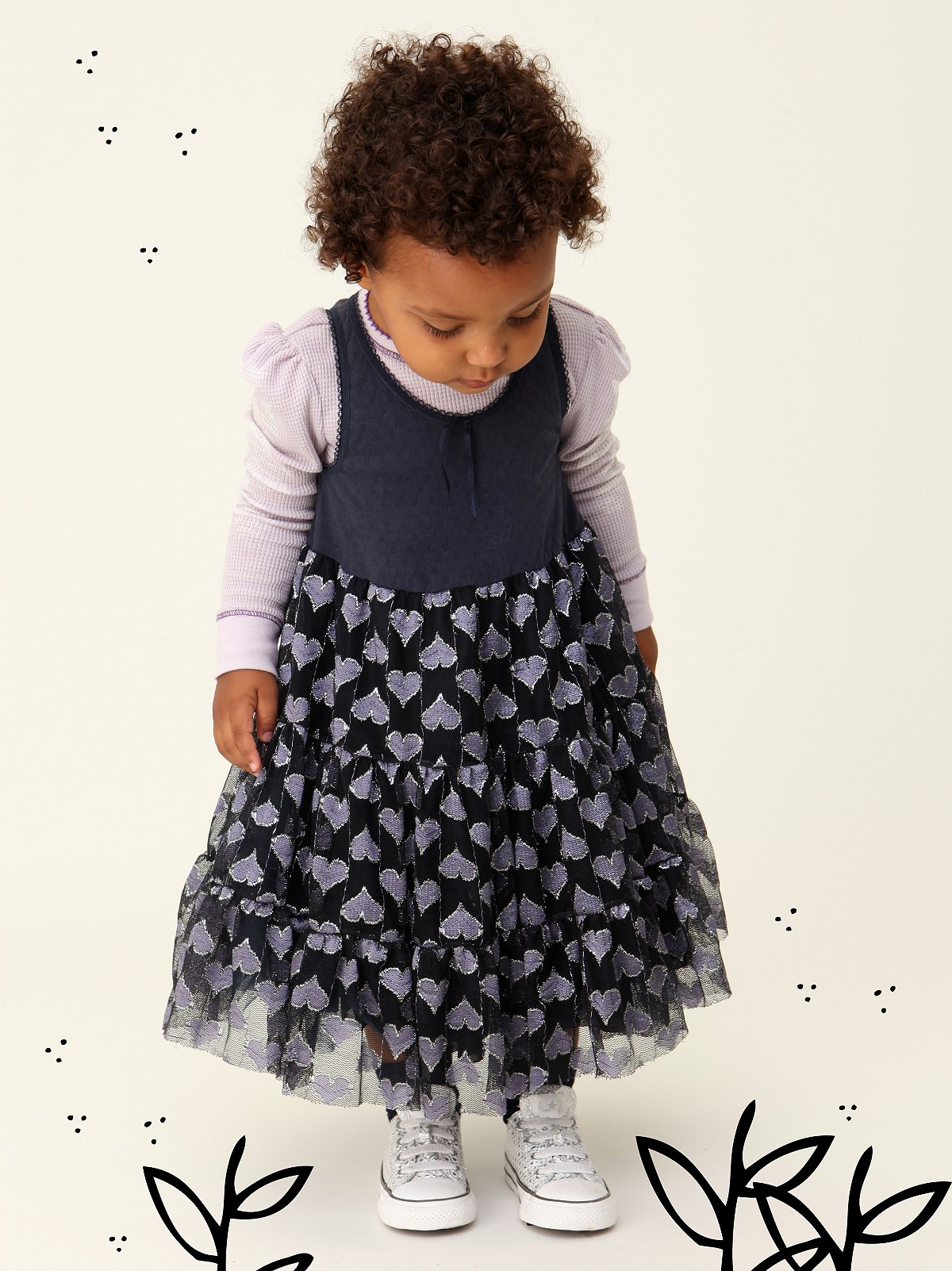 Wee People Hearts O Love Party Dress