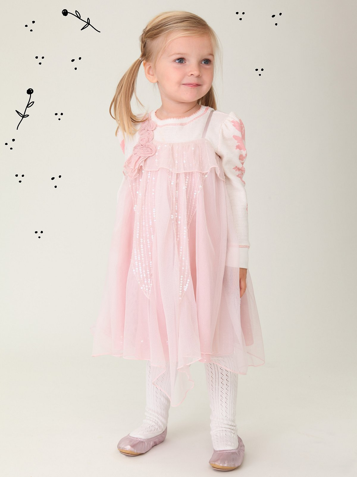 Wee People Gypsy Rose Sparkle Dress