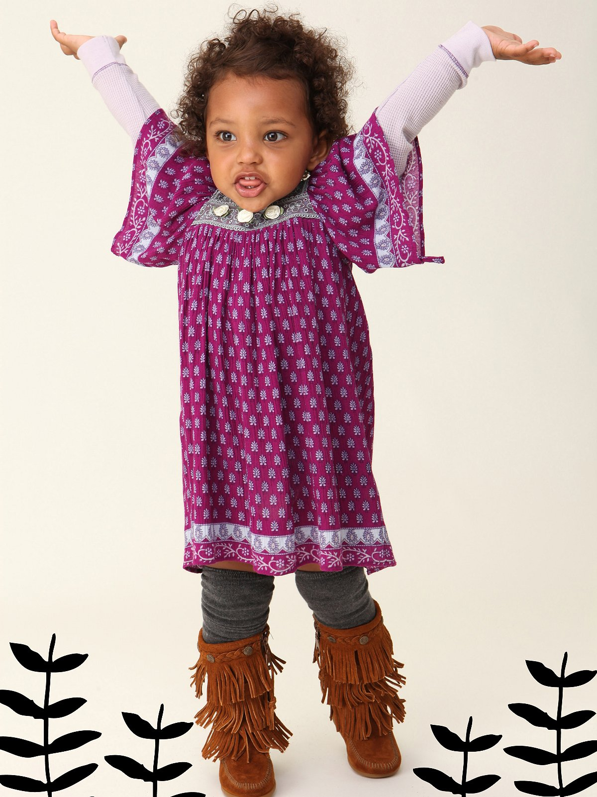Wee People Boho Butterfly Dress