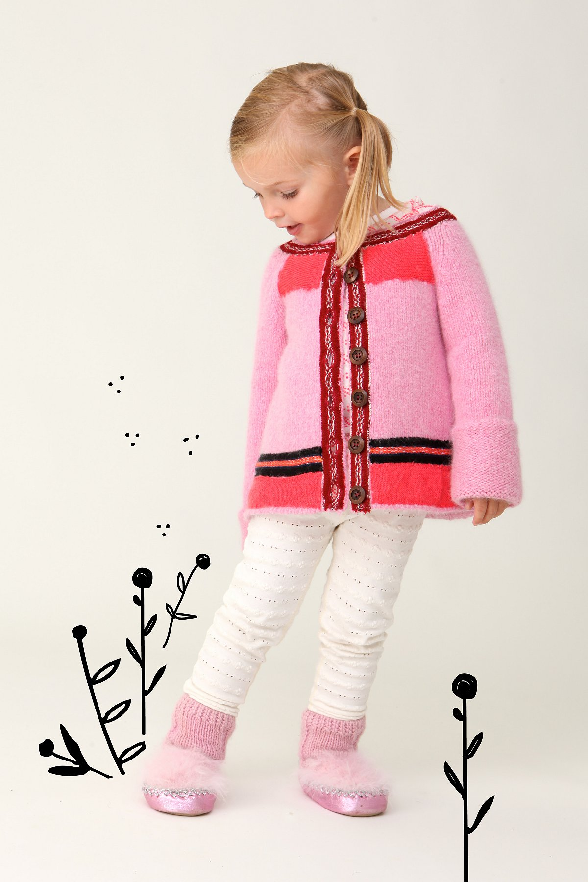 Wee People Hansel & Gretel Cardi