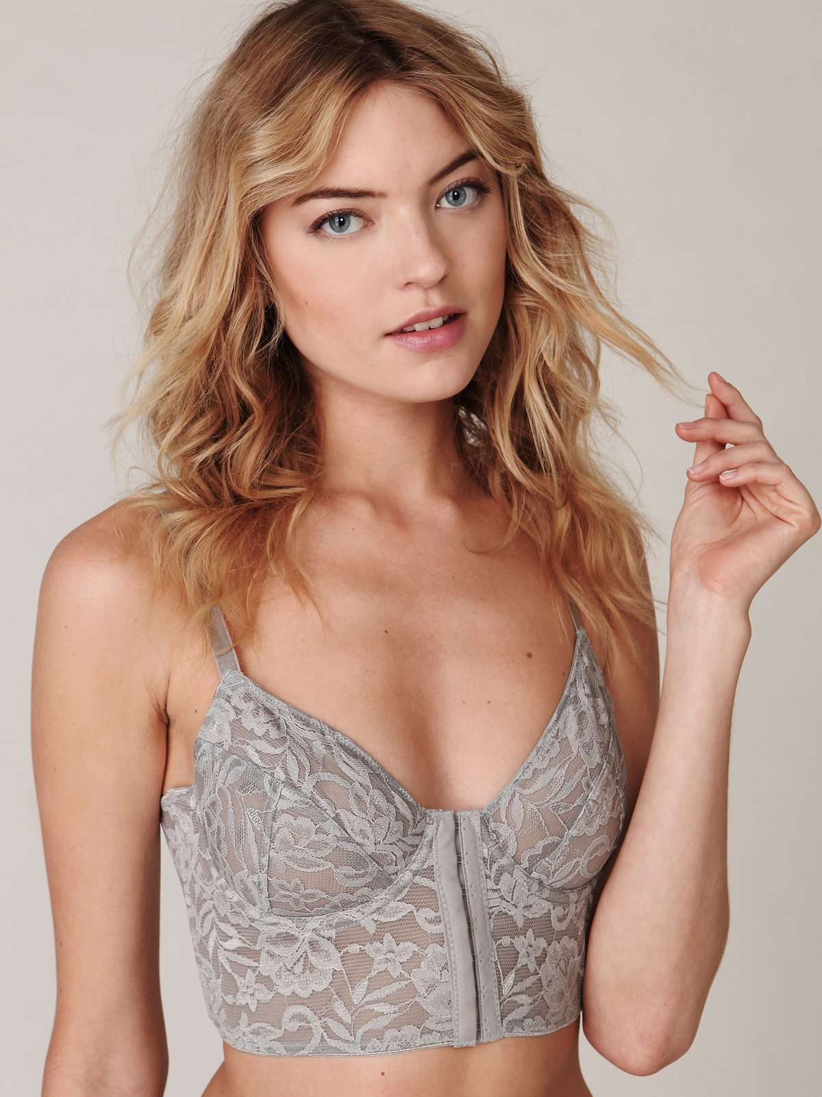 Cropped Lace Bralette