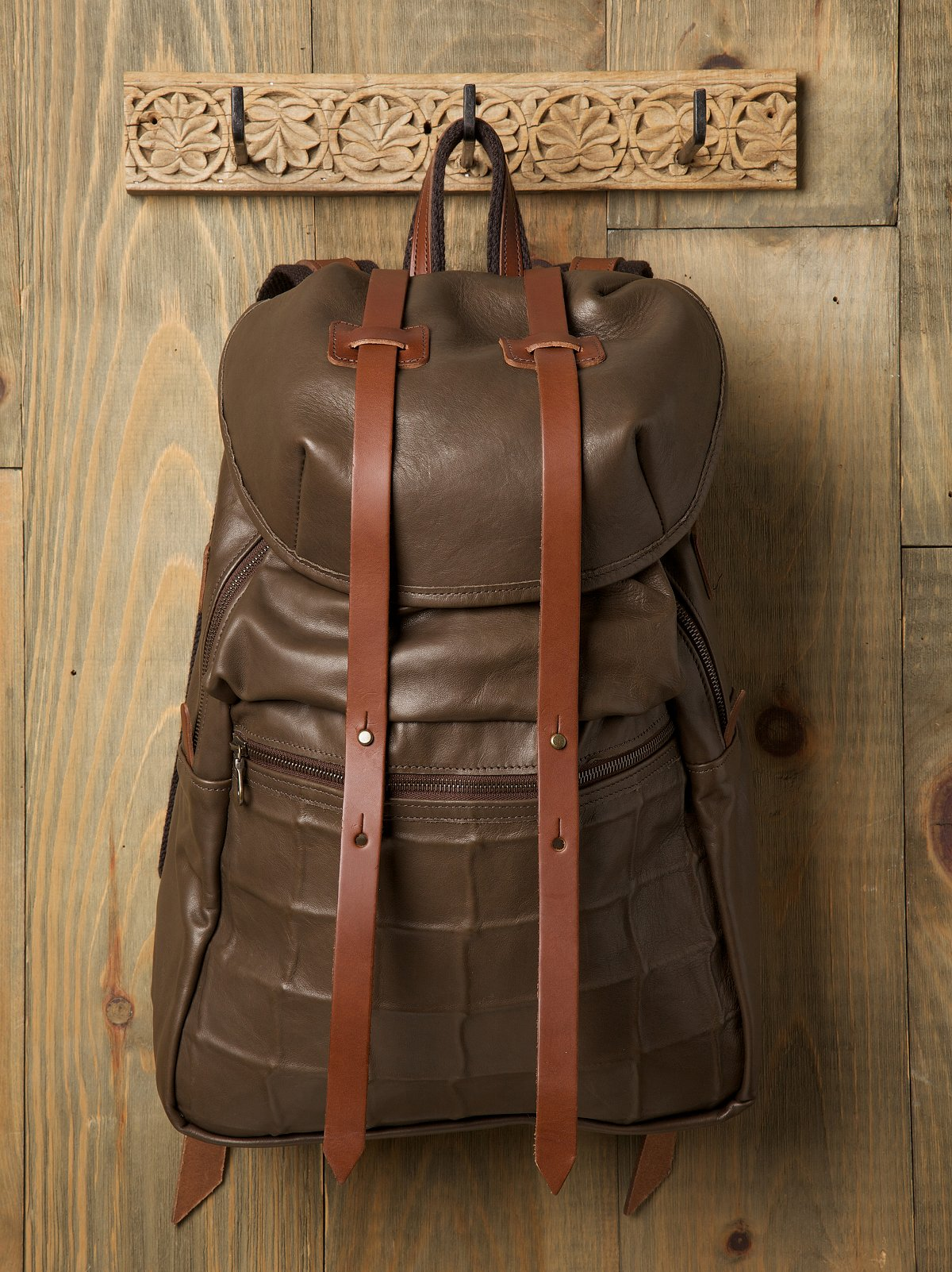 Double Strap Rucksack by Jas MB