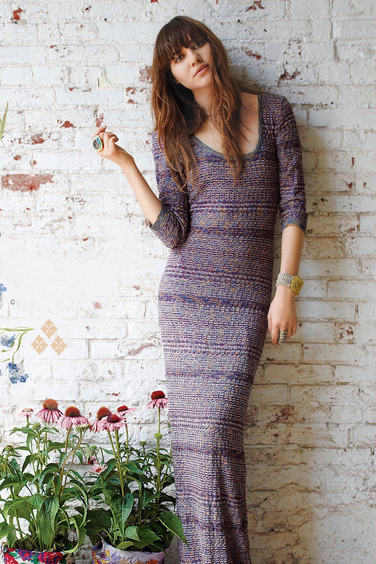 Read Across Maxi Dress