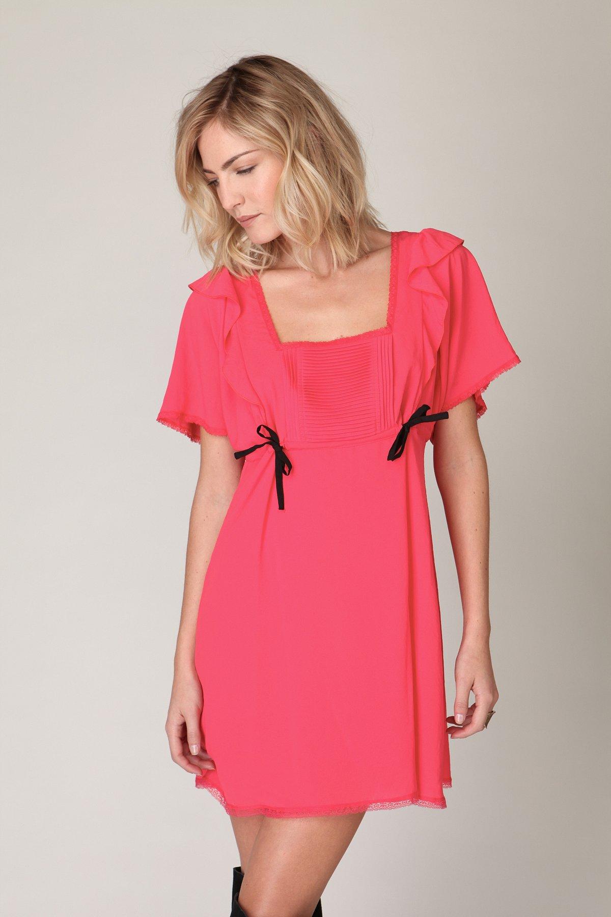 Ruffled Nightingale Dress