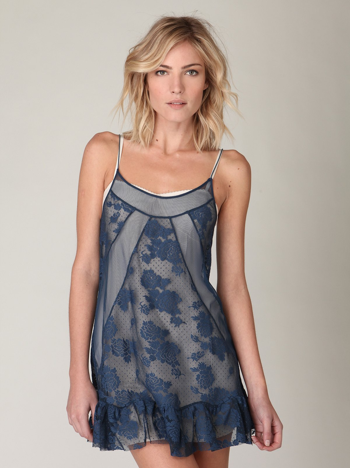 Pieced Lace Slip