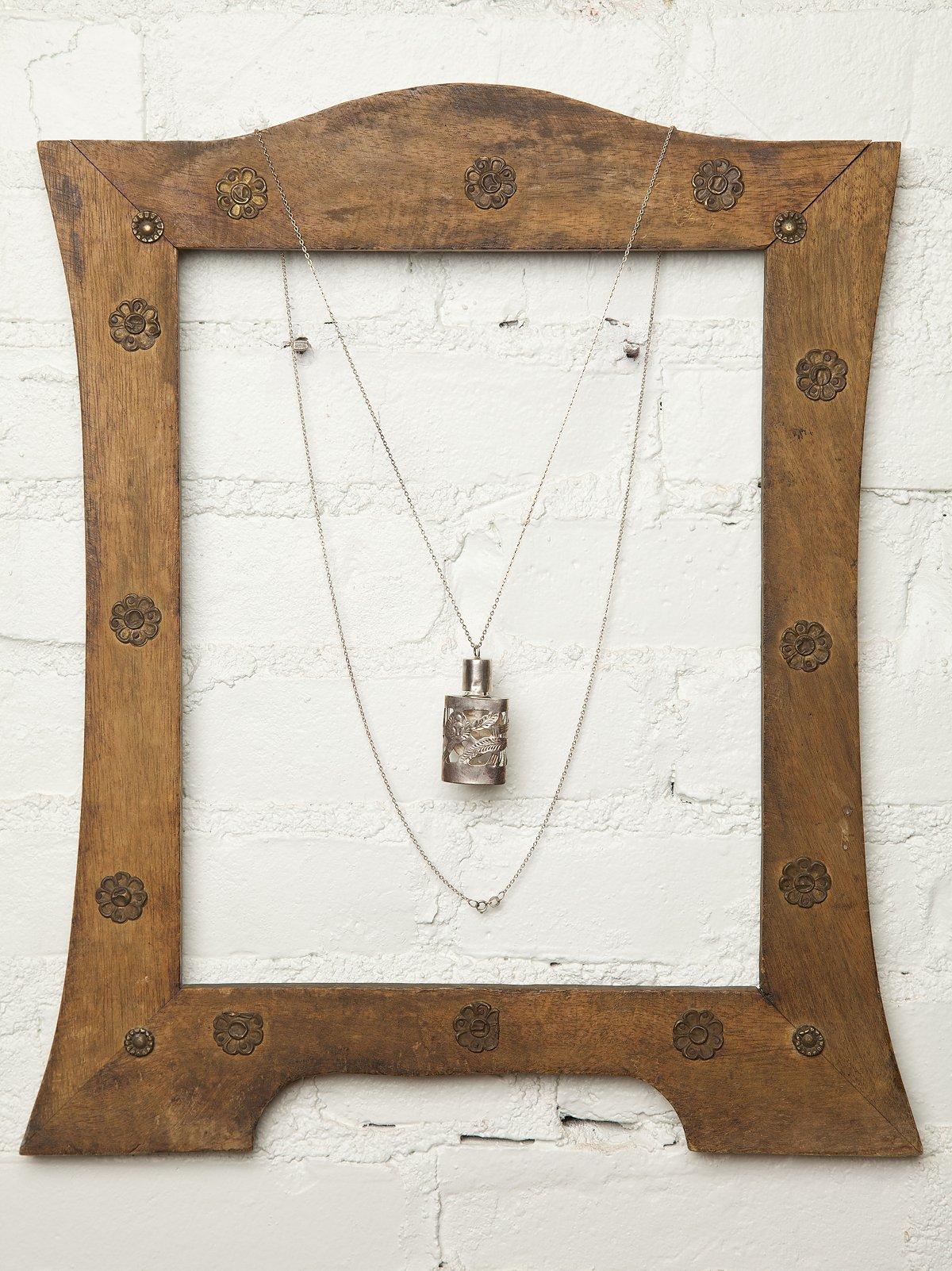 Vintage Perfume Bottle Necklace