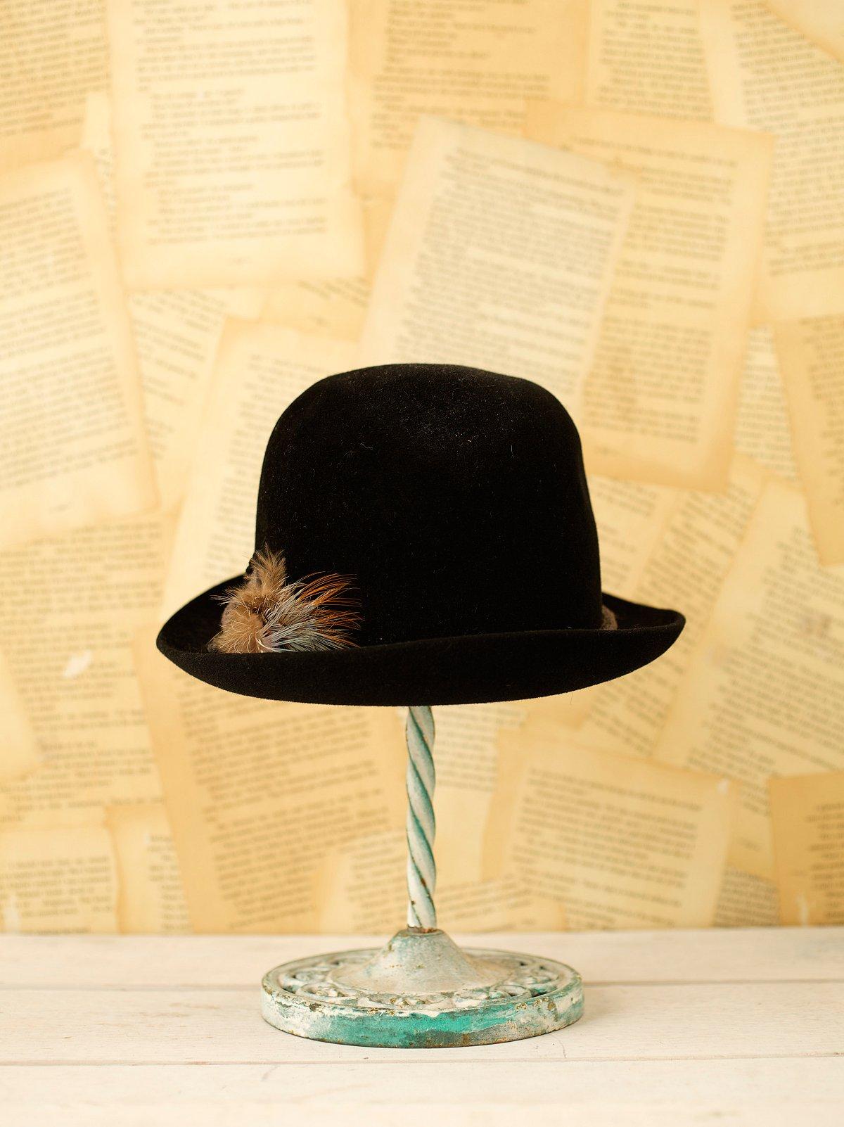 Vintage 70s Felt Hat