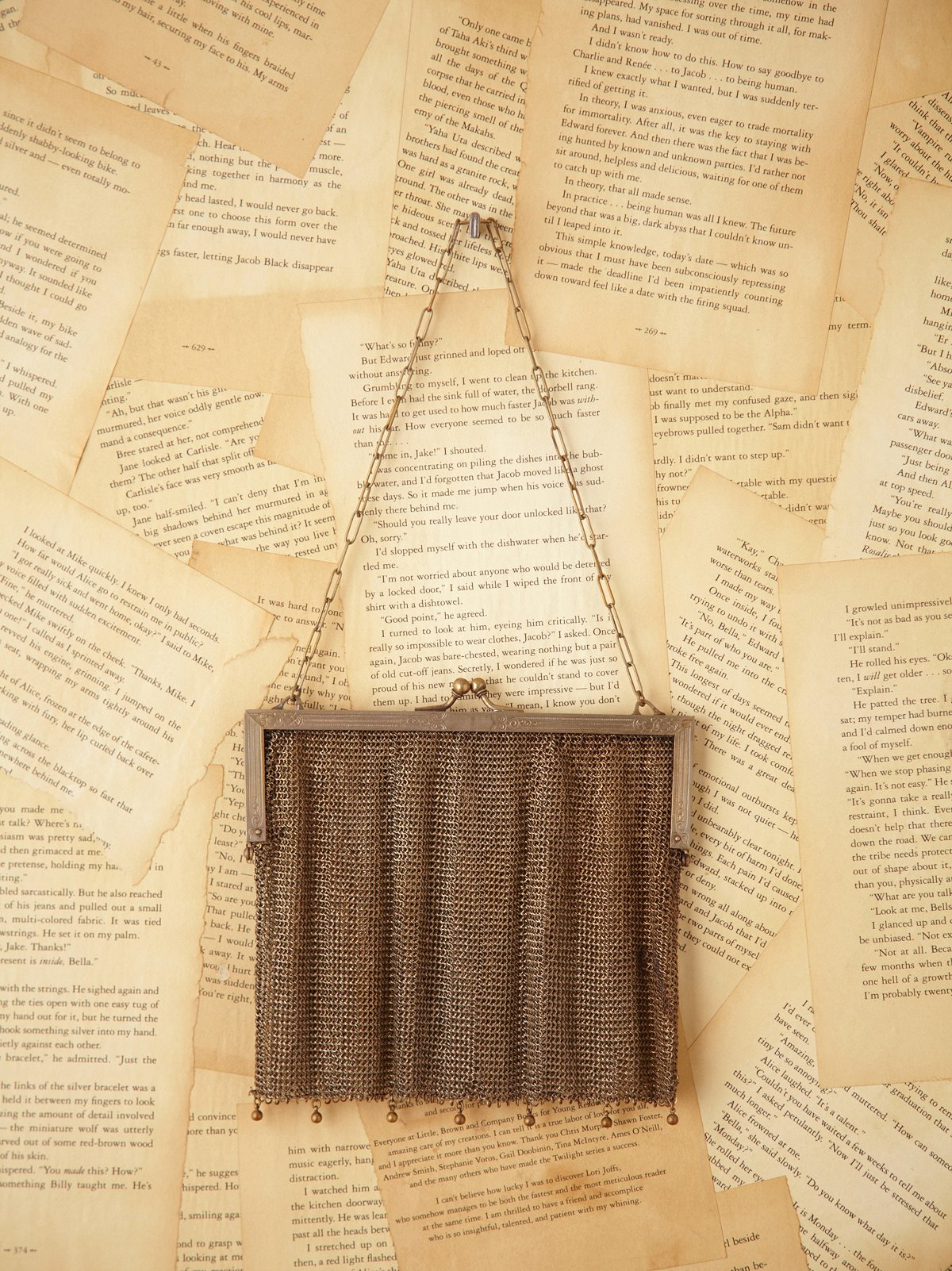 Vintage Metal Mesh Evening Bag