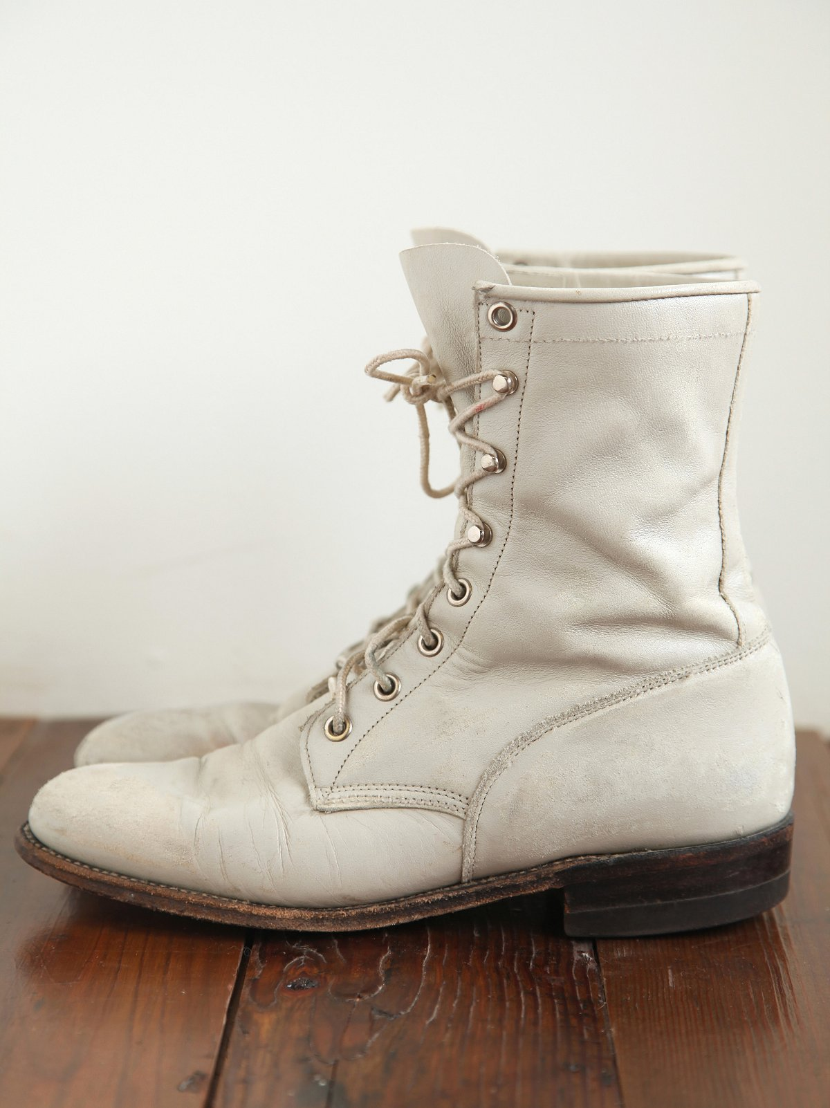 Vintage Lace Up Roper Boot