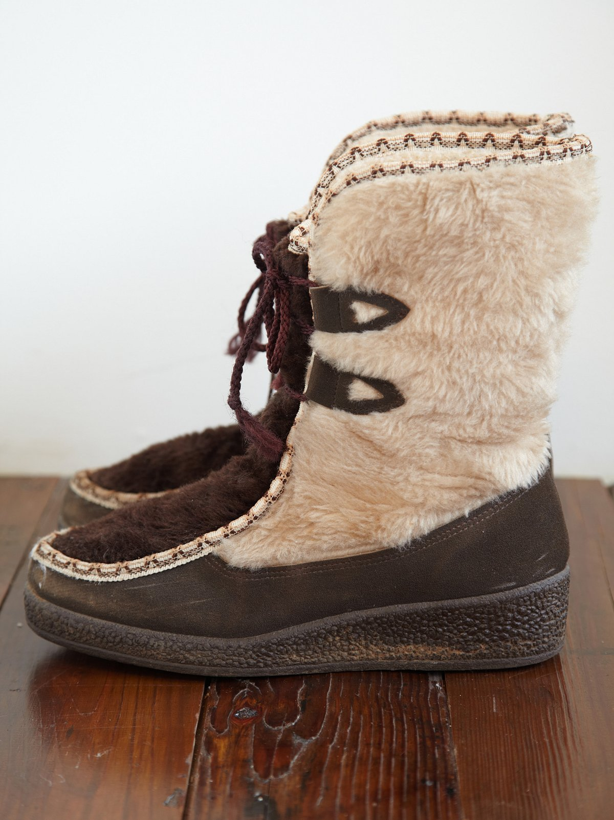 Vintage Faux Fur Winter Boot