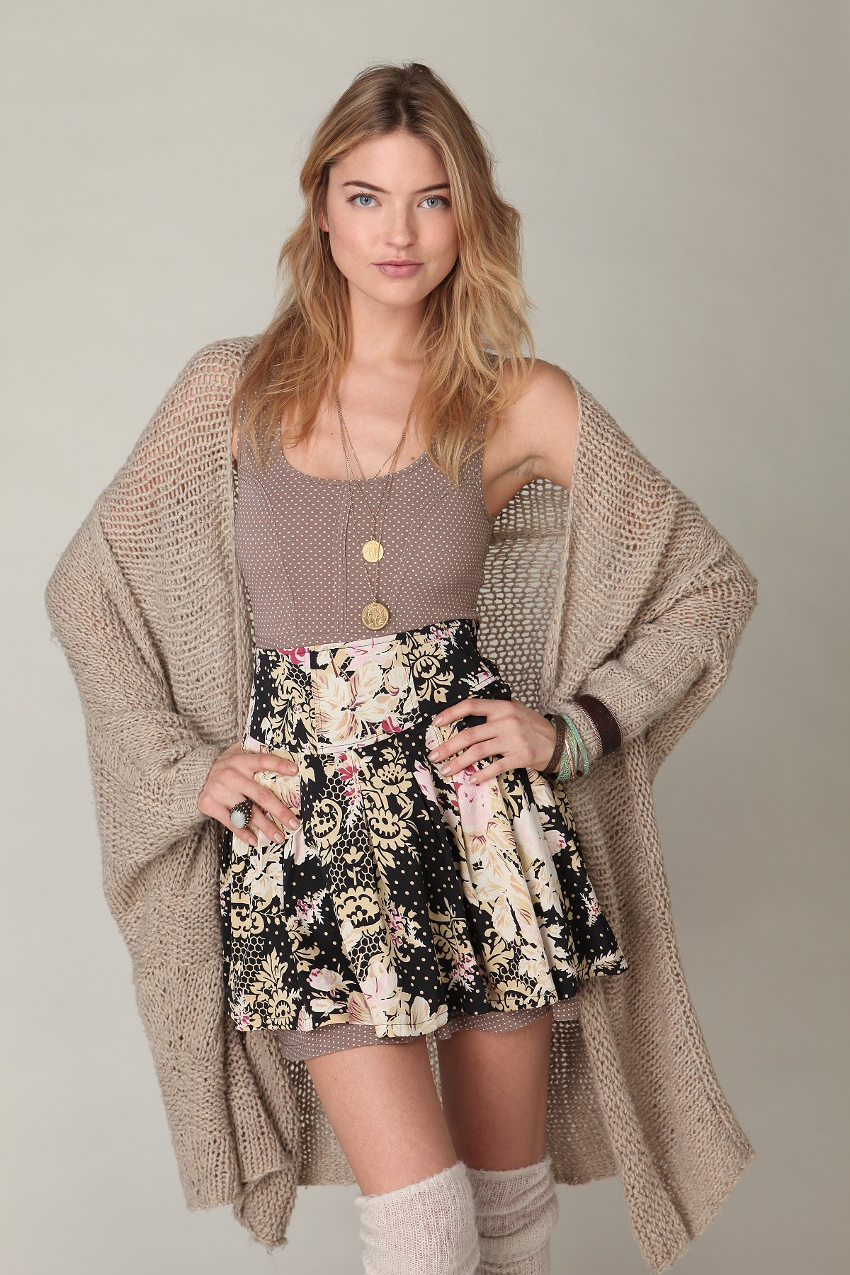 Wow Floral Printed Skirt