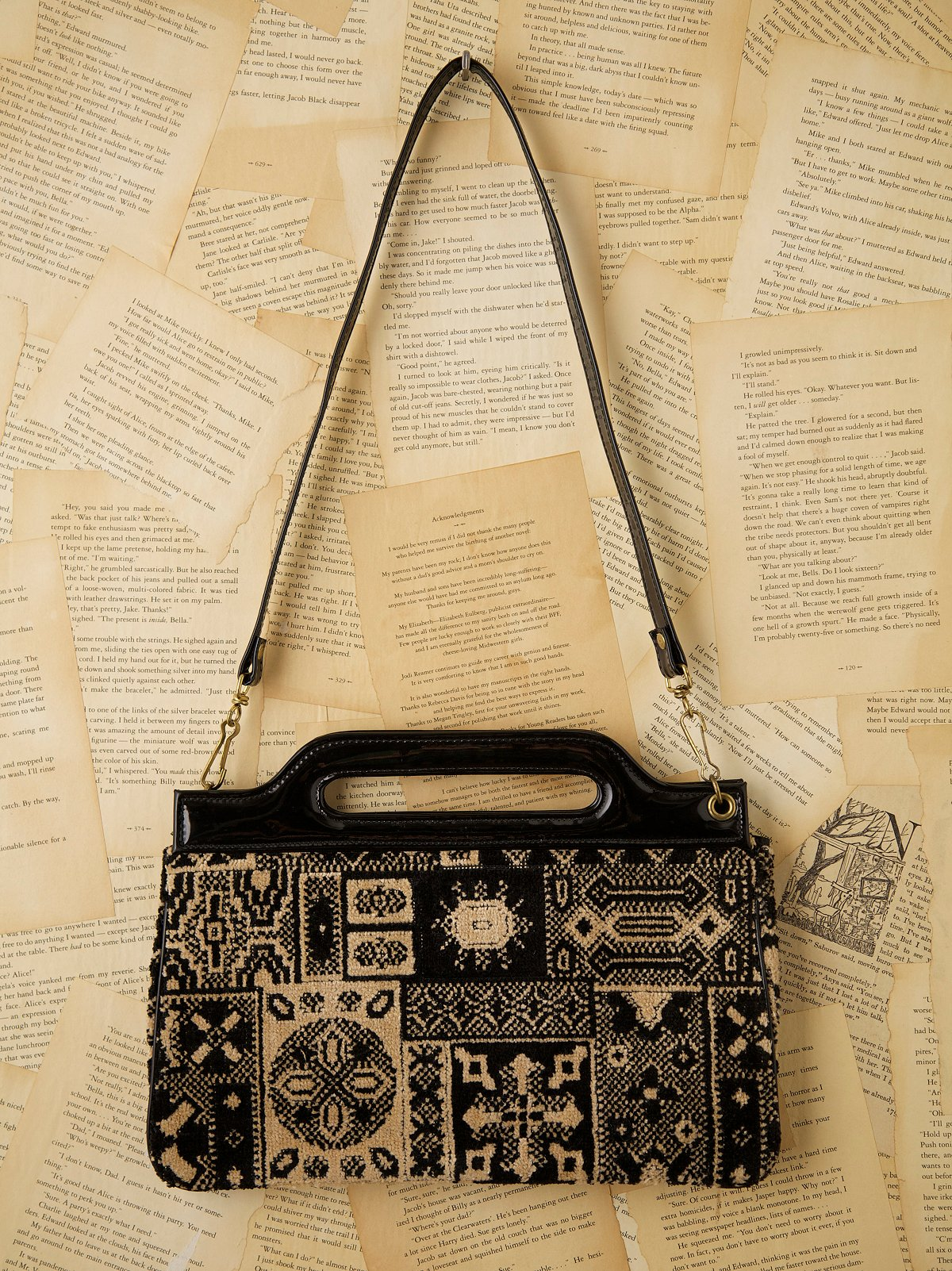 Vintage Small Carpet Bag