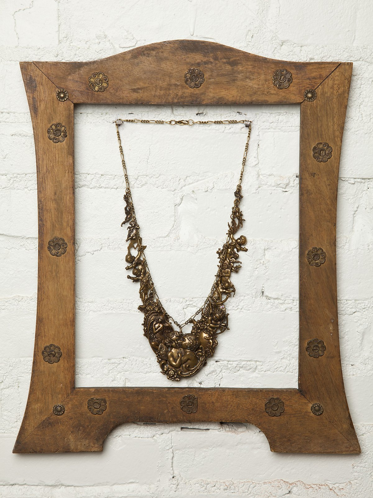 Vintage Cupid's Charm Necklace
