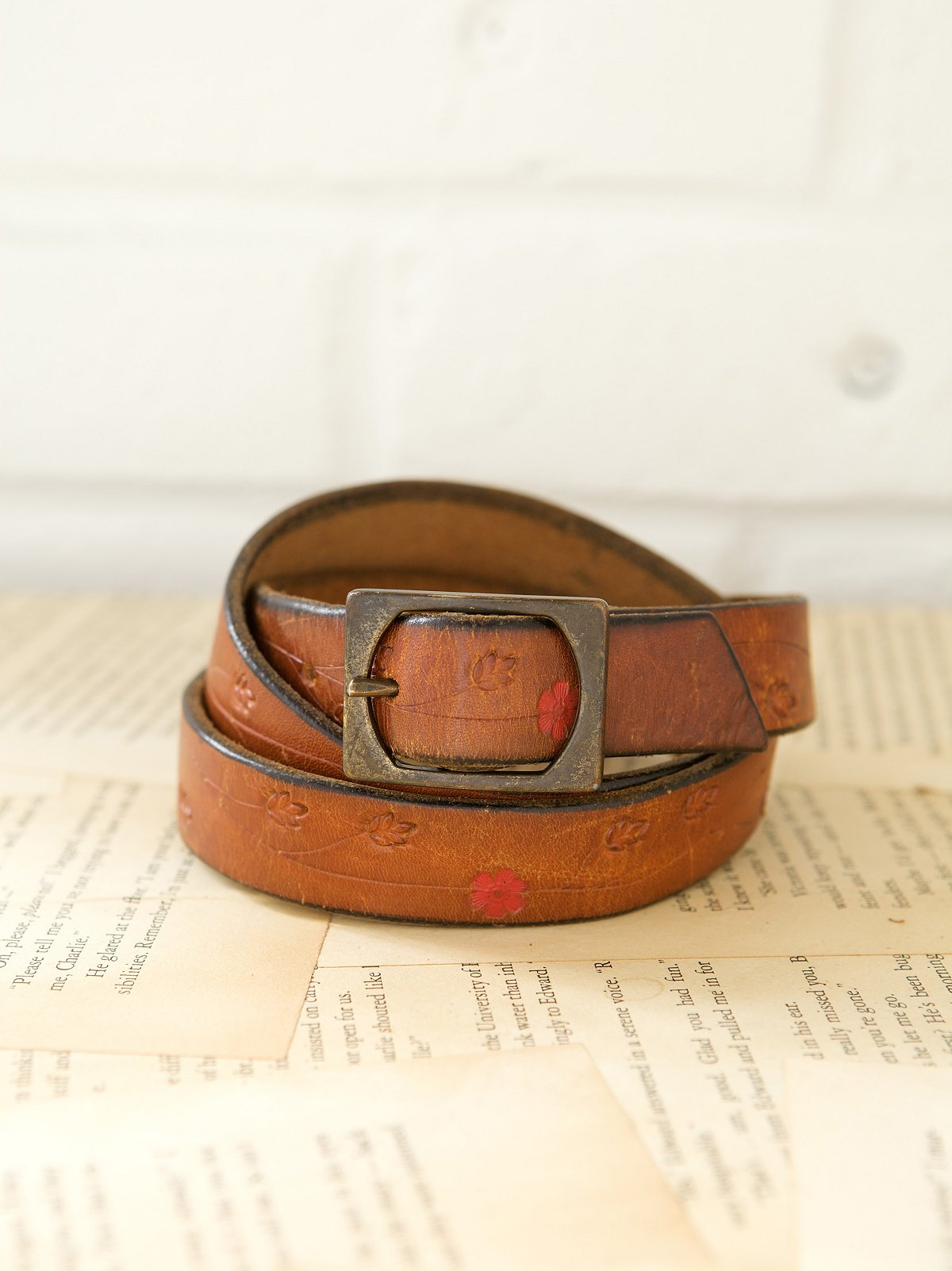 Vintage 1970s Meadow Belt
