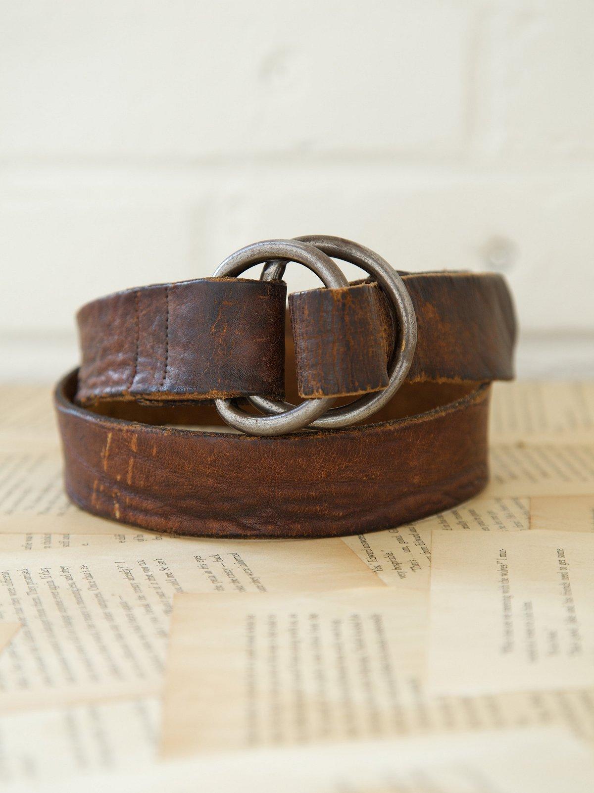 Vintage 1970s Doe Belt