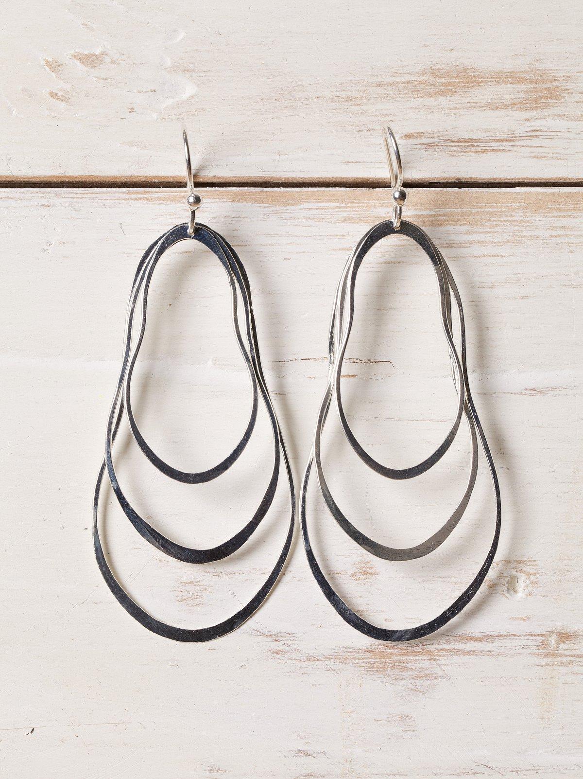 Tres Hoops Earring