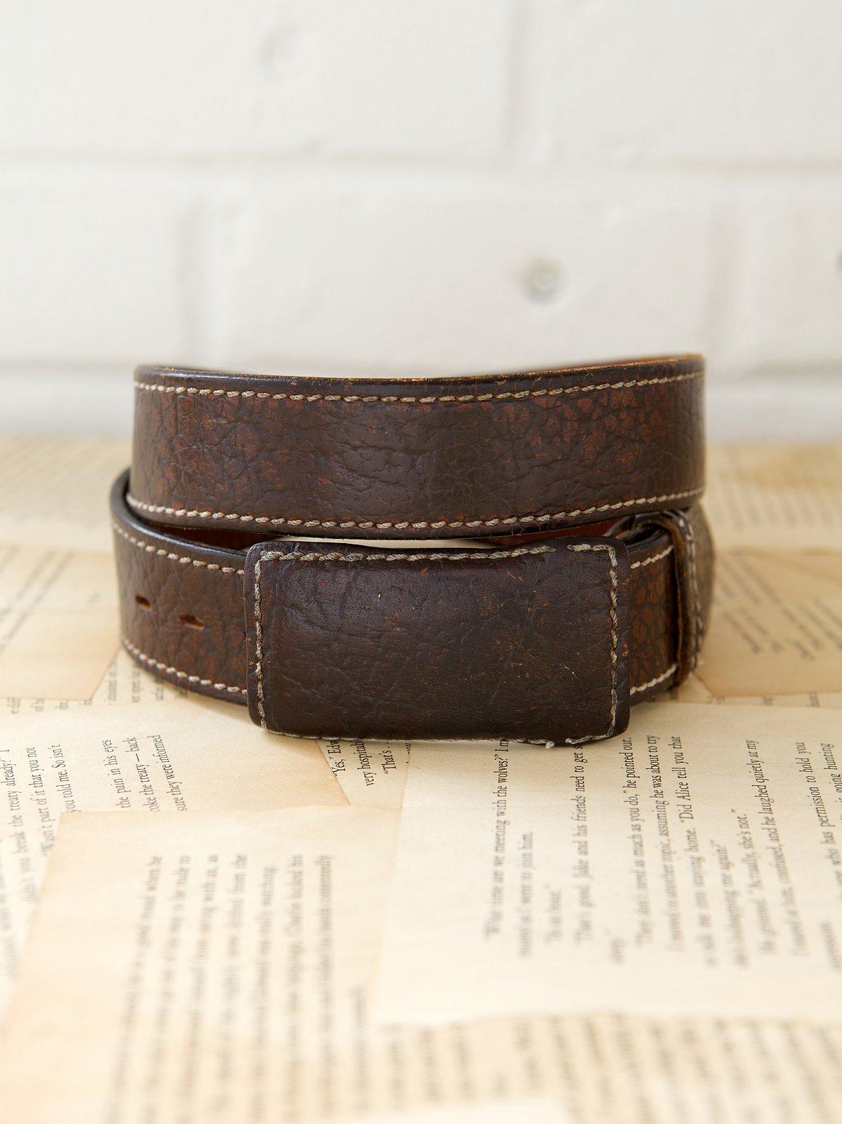 Vintage 1970s Doctor Brown Belt