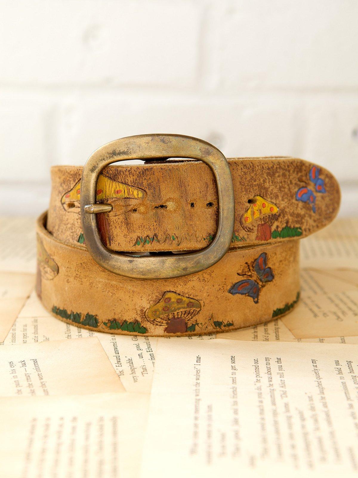Vintage 1970s Wild Thing Belt