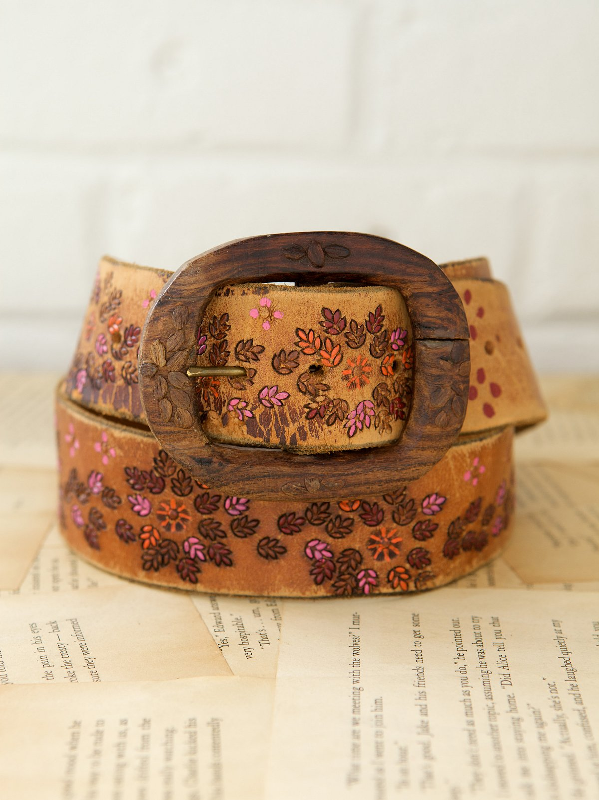 Vintage 1970s Purple Haze Belt