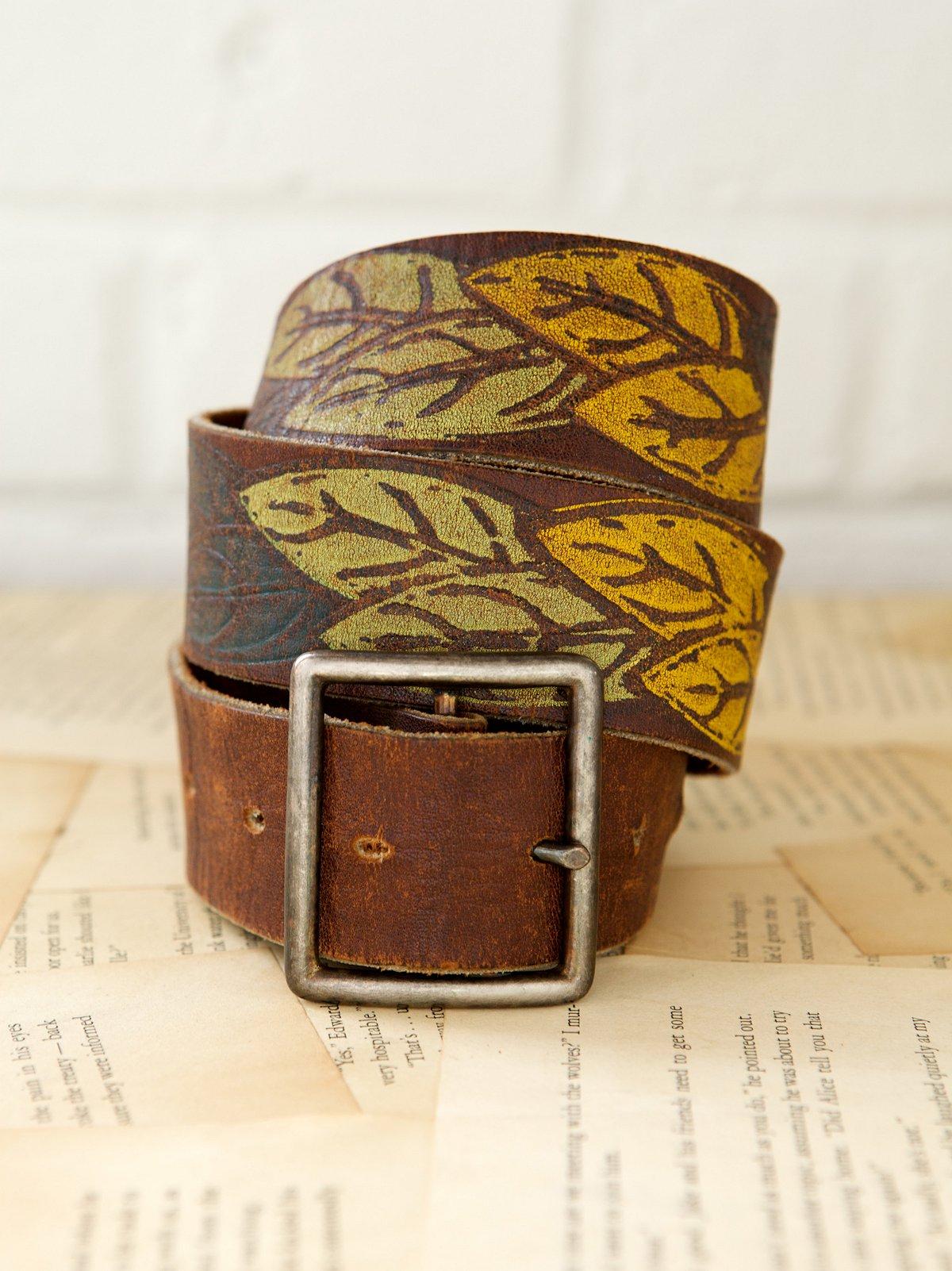 Vintage 1970s Littlewing Belt