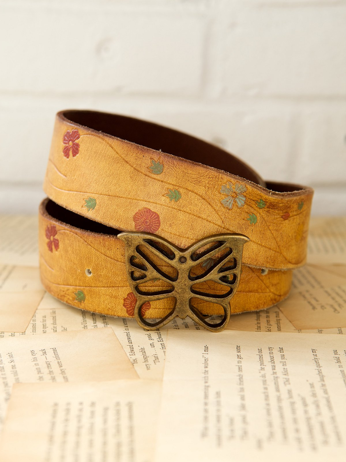 Vintage 1970s Monarch Belt