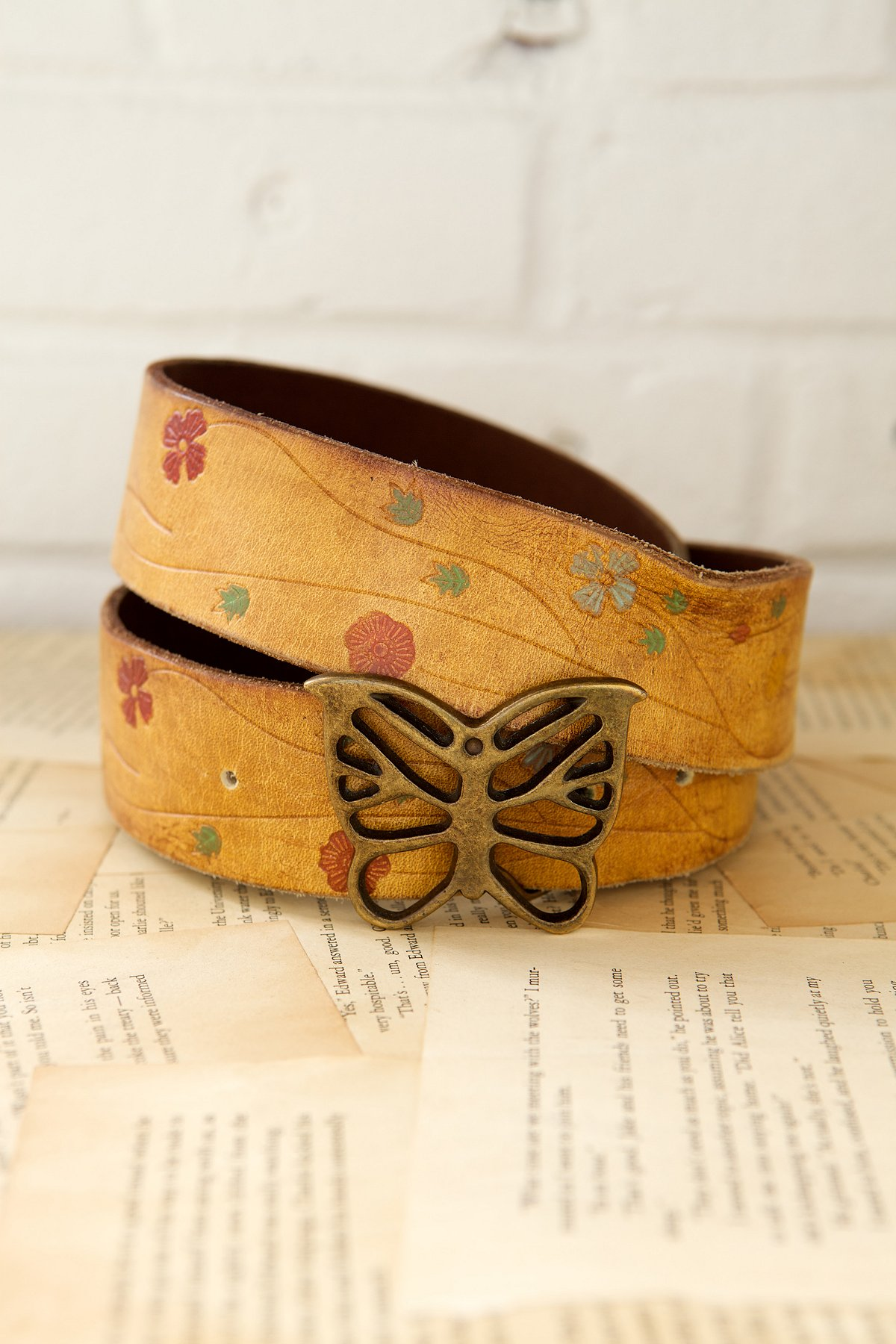 Vintage 1970s Monarch Belt