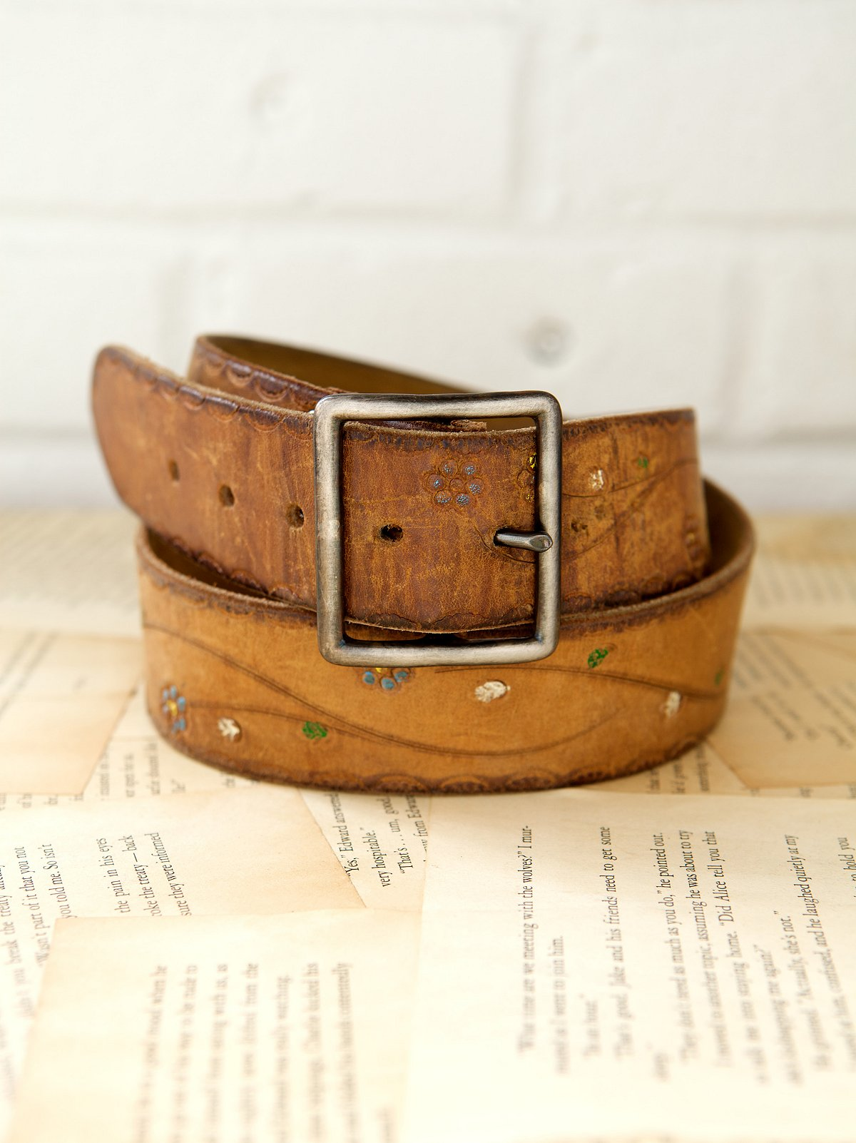 Vintage 1970s Kozmic Blues Belt