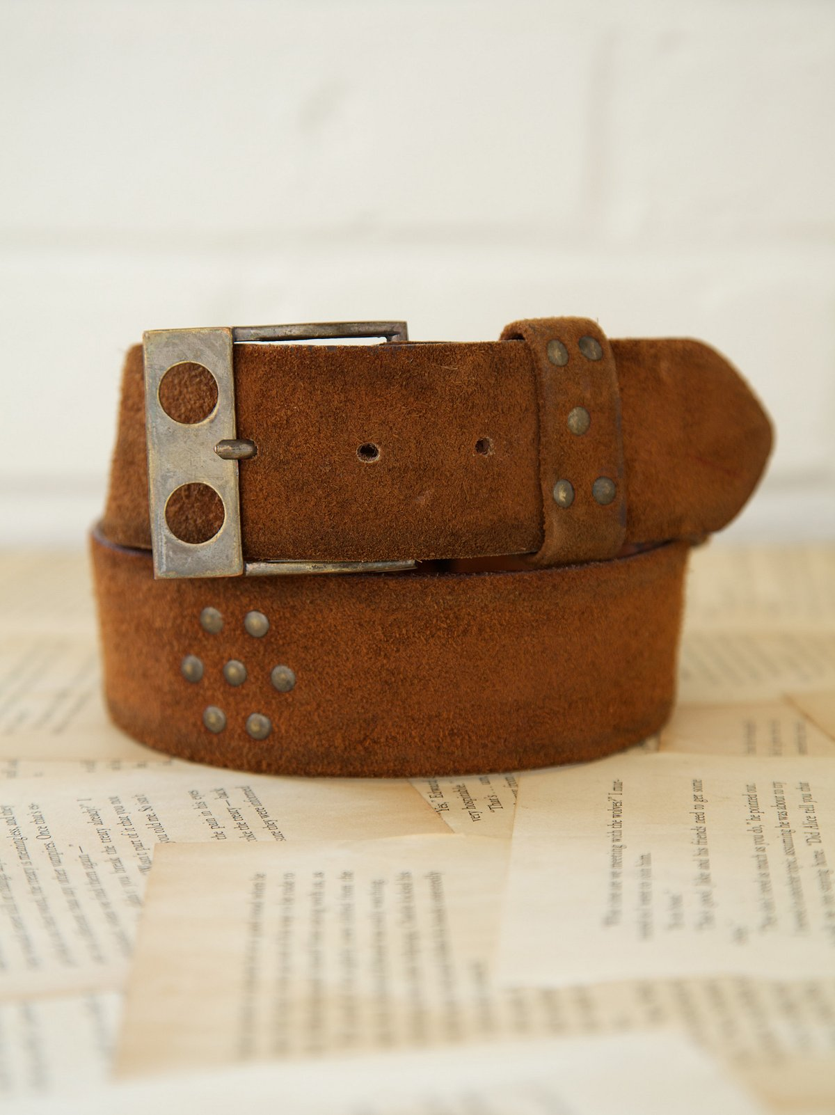 Vintage 1970s Knockout Belt