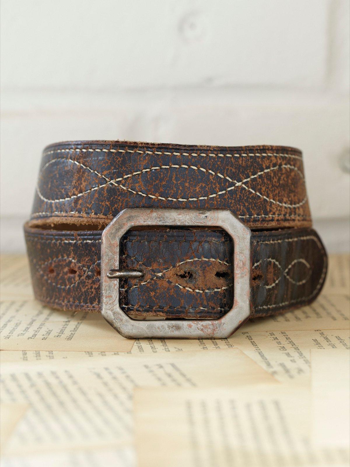 Vintage 1970s Troublemaker Belt