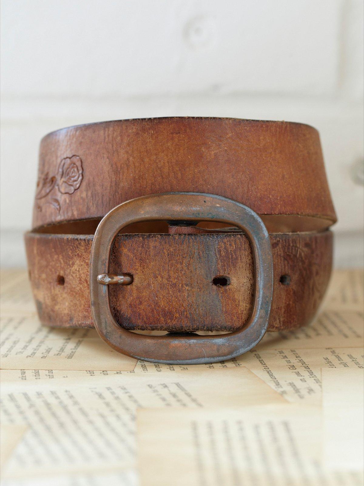 Vintage 1970s Maggie May Belt