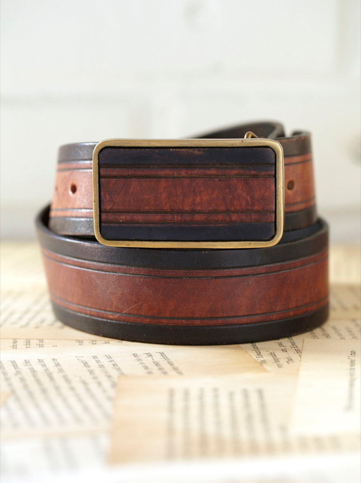 Vintage 1970s Burrough's Belt