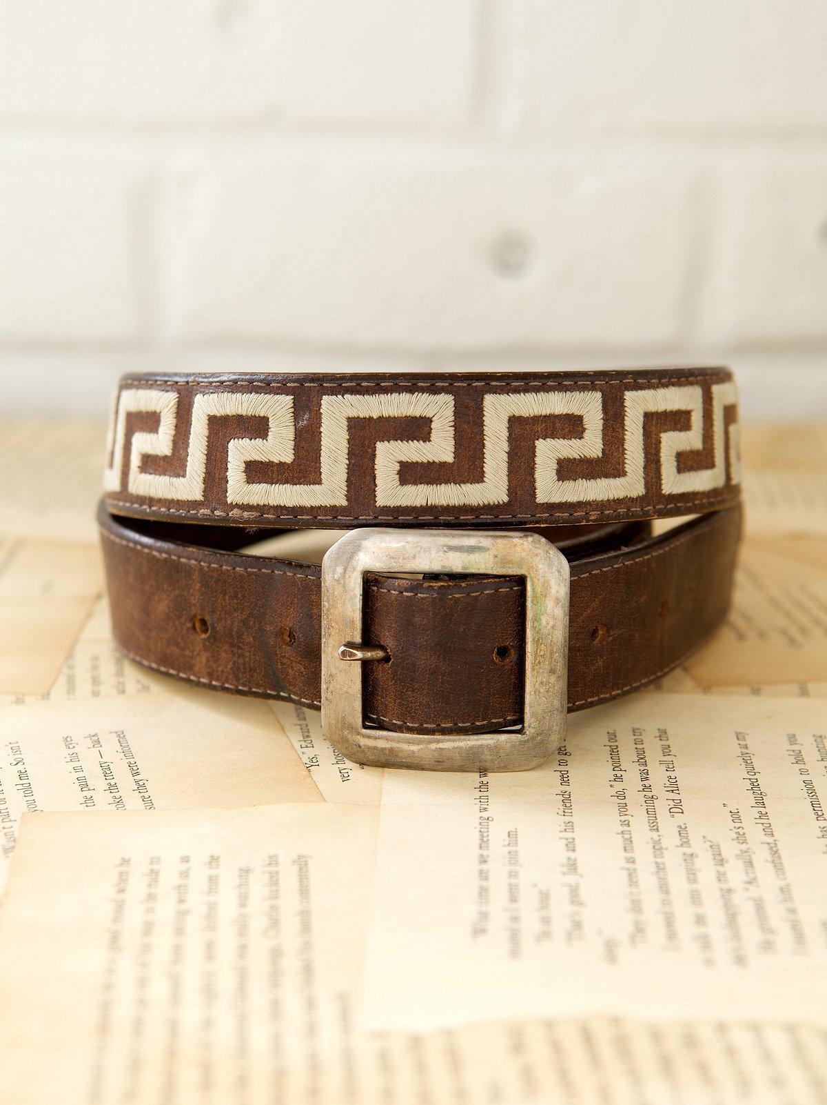 Vintage 1970s Isis Belt