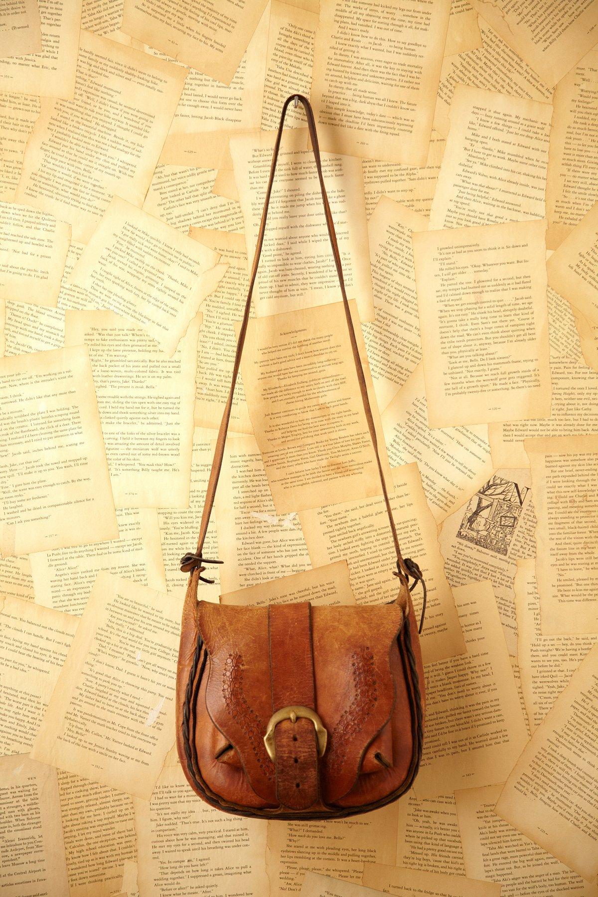 Vintage Leather Boho Bag