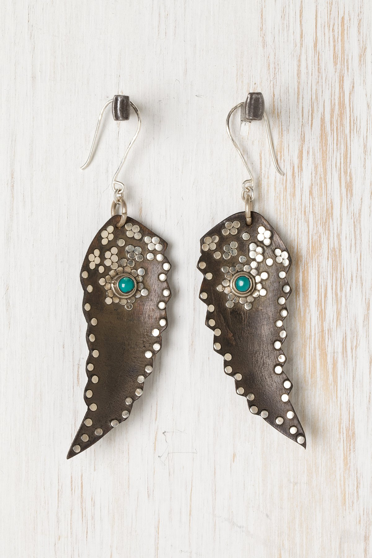 Indian Feather Earring
