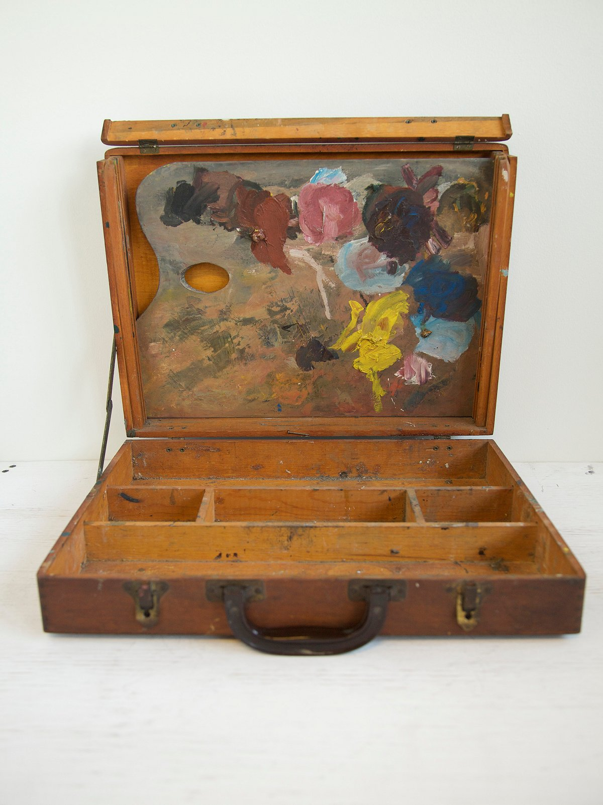 Vintage 1960s Painter's Box