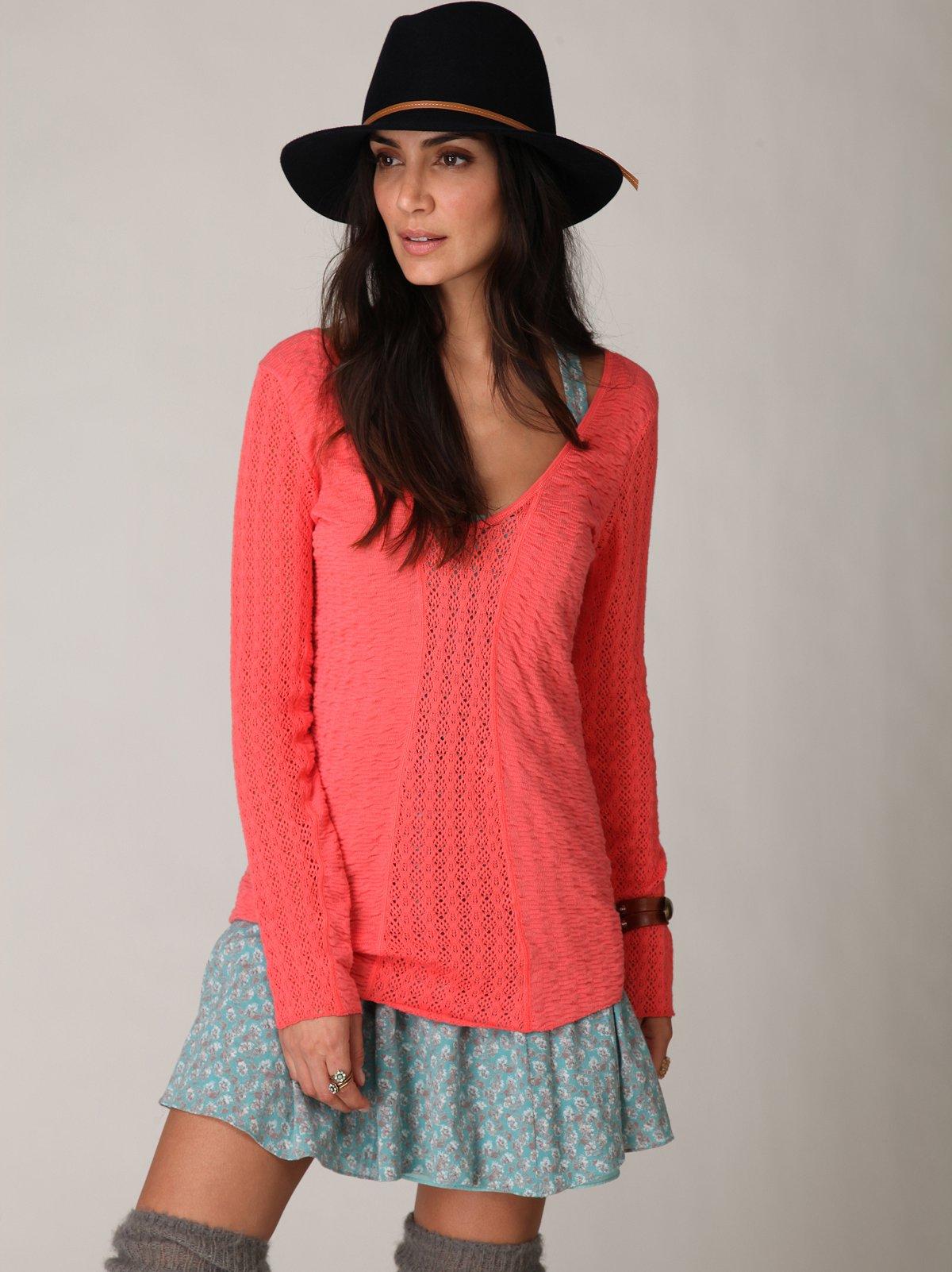 Crochet Layering Sweater