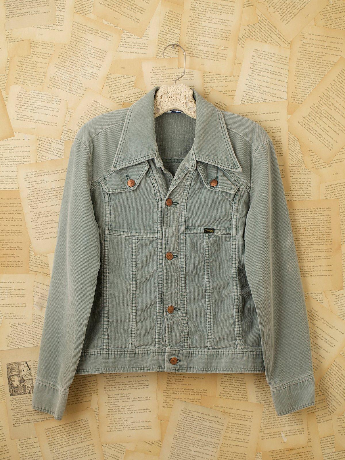 Vintage 1970s Wrangler Jacket
