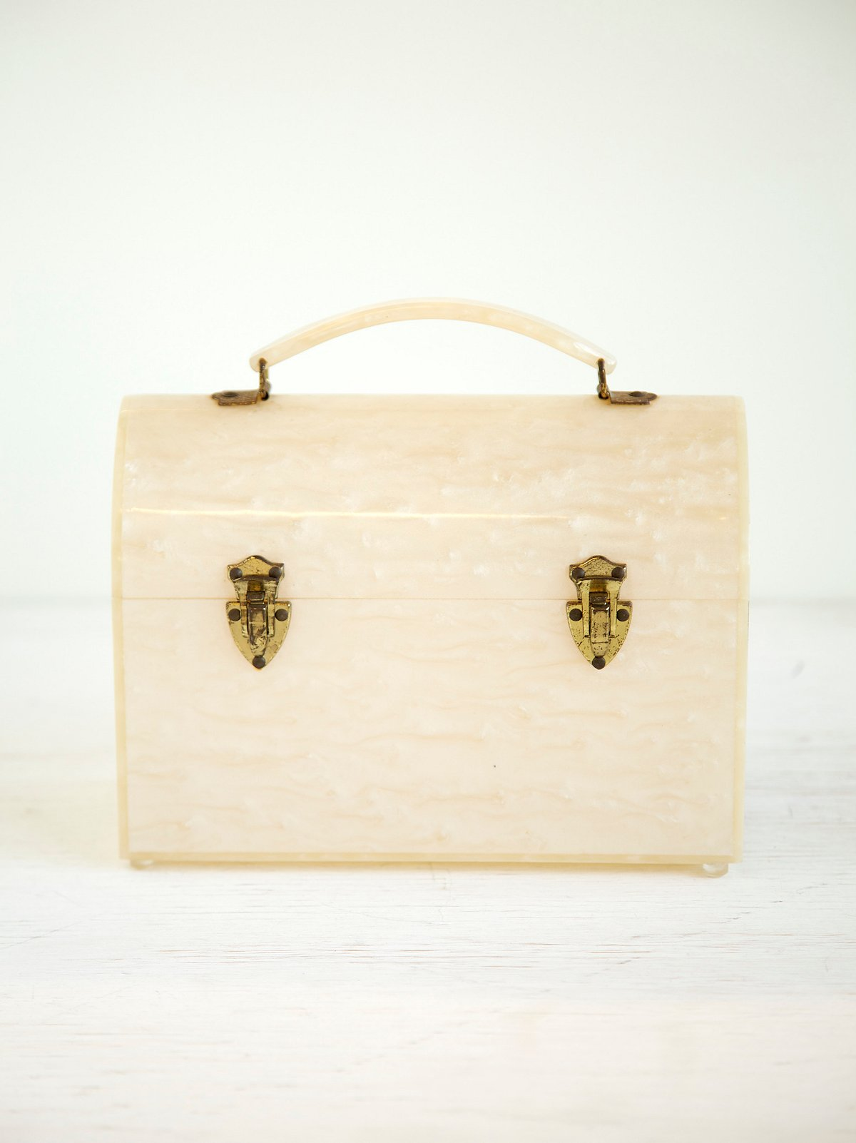 Vintage 1940s Perspex Lunch Box
