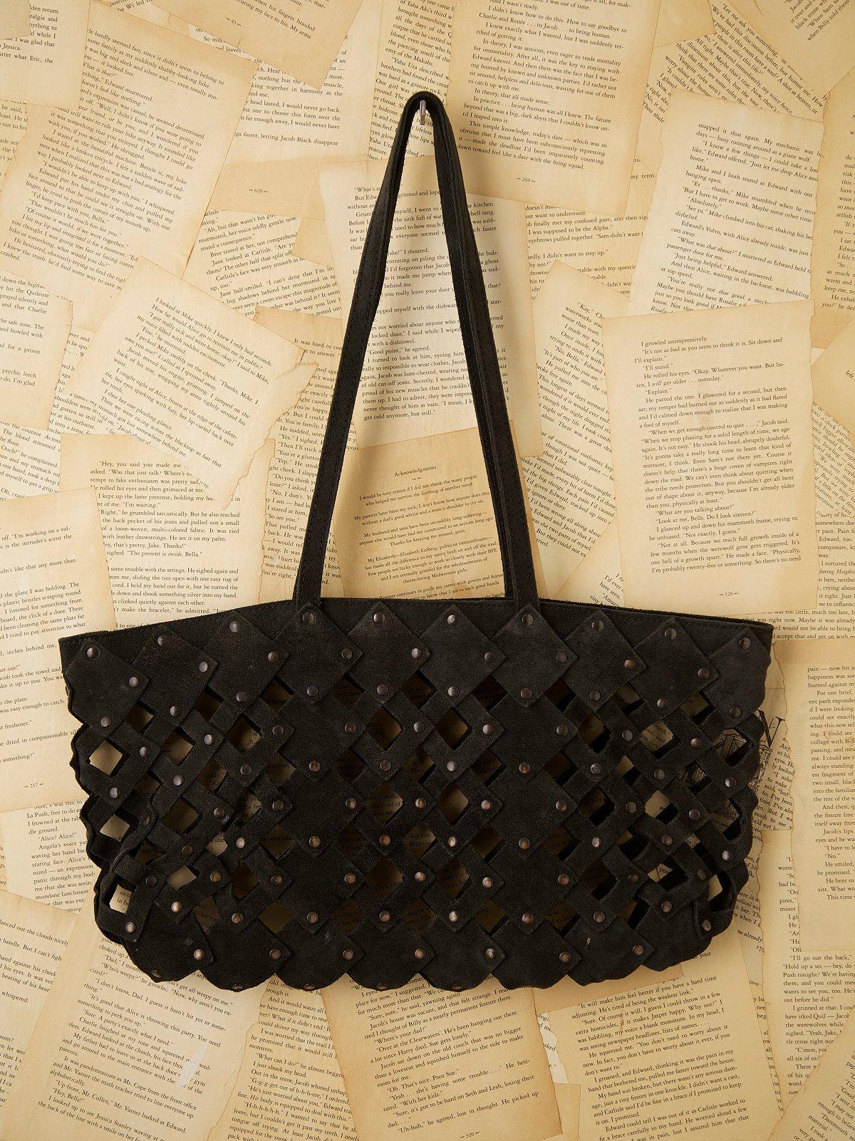 Vintage 1970s Suede Bag