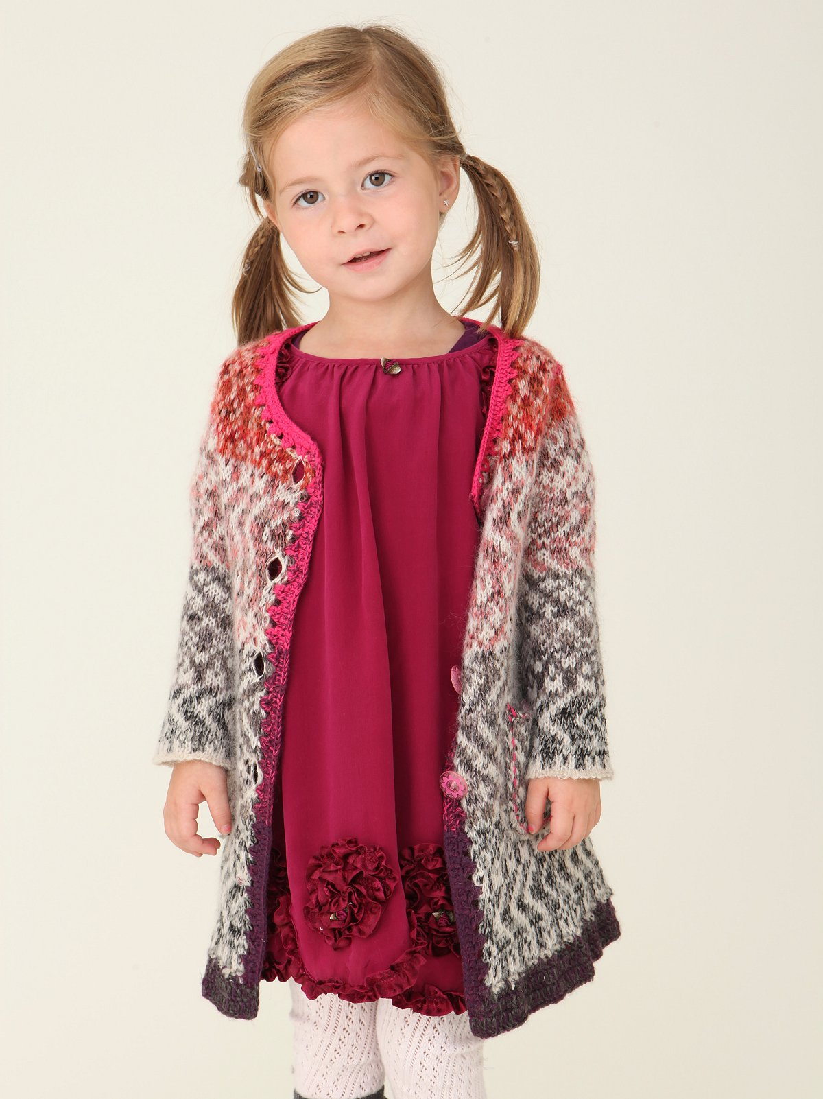 Wee People Thumbelina Sweater Coat