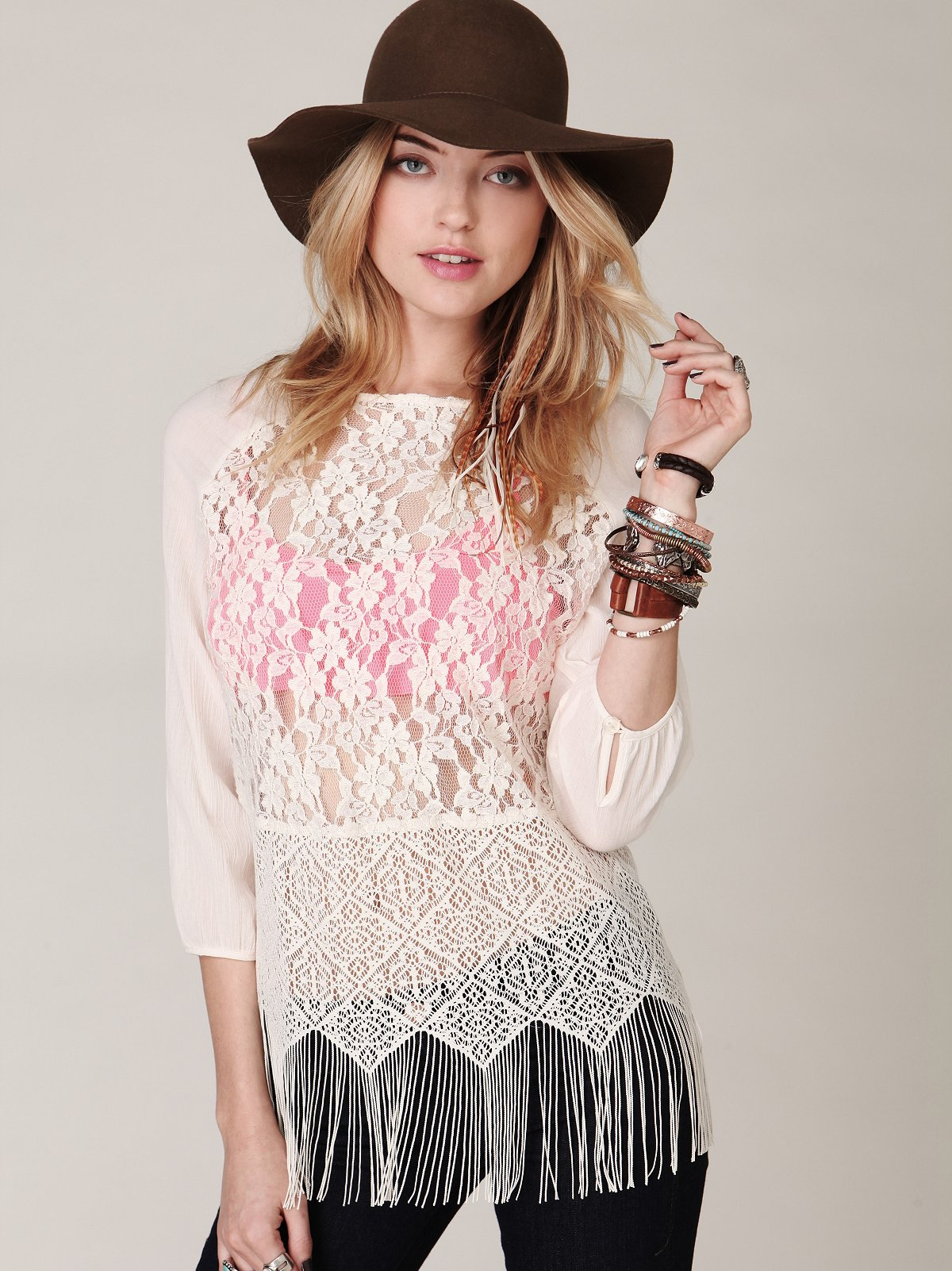 Windows of Lace Top