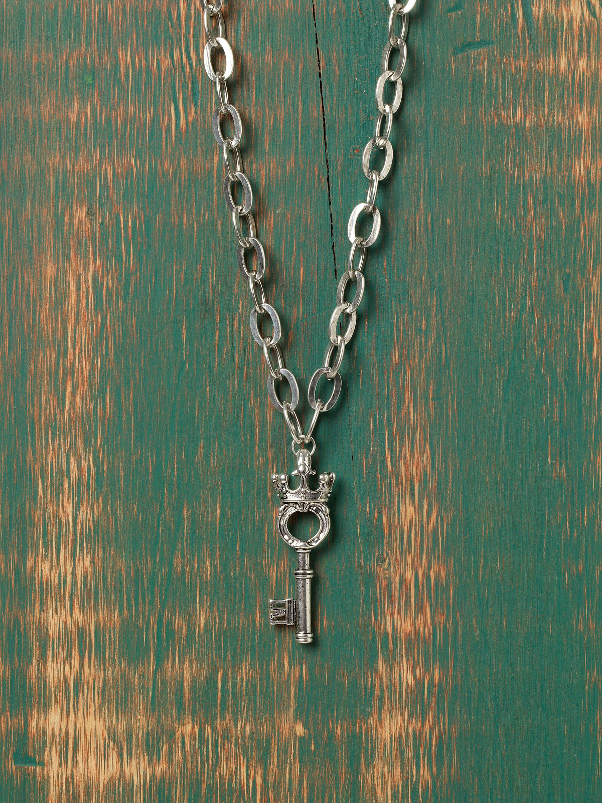 Crowned Key Pendant