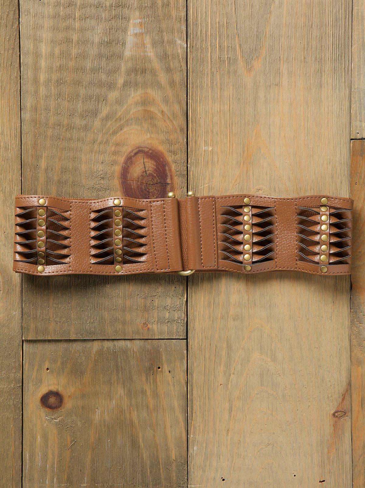 Shredded Twist Waist Belt