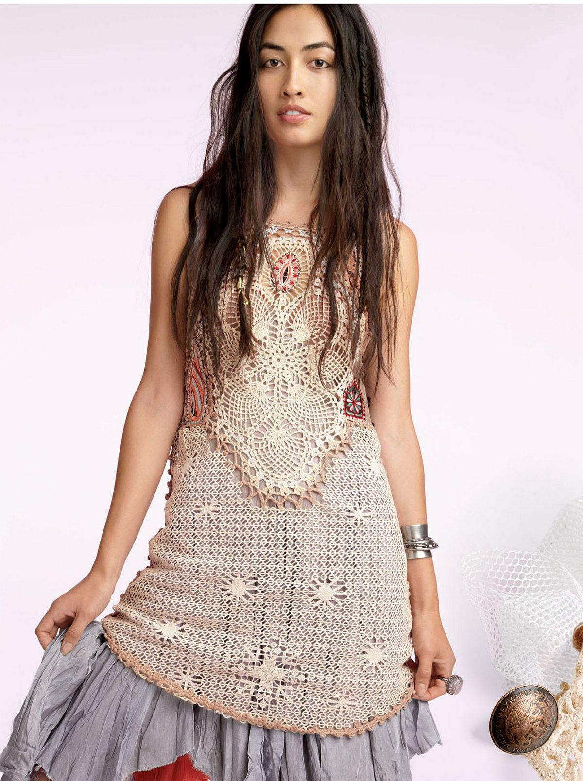 Peruvian Crochet Dress